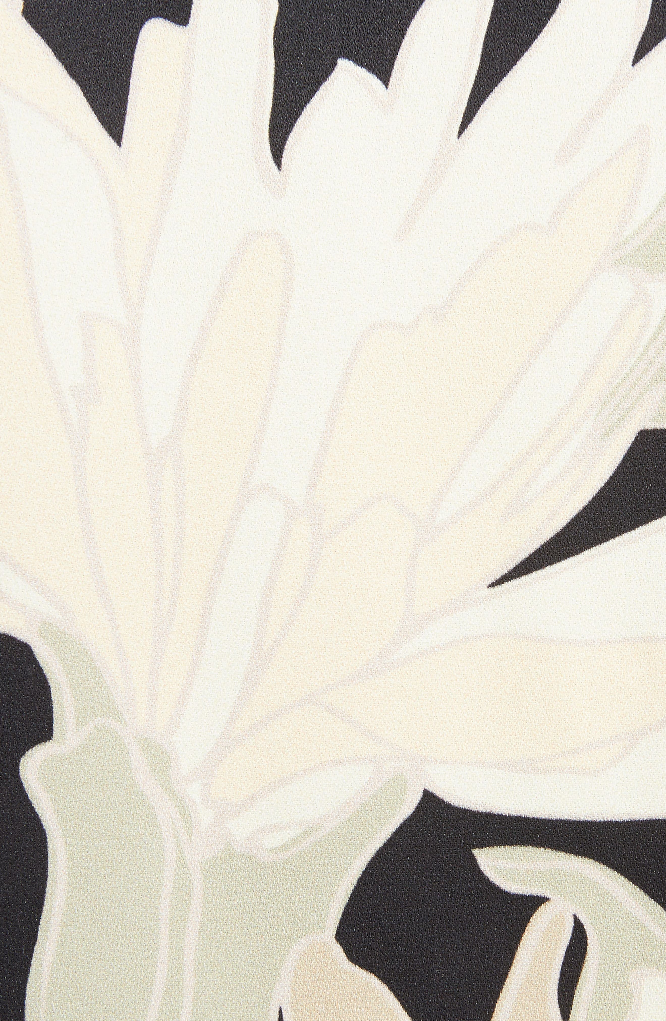 Alternate Image 5  - Dries Van Noten Knit Trim Floral Dress
