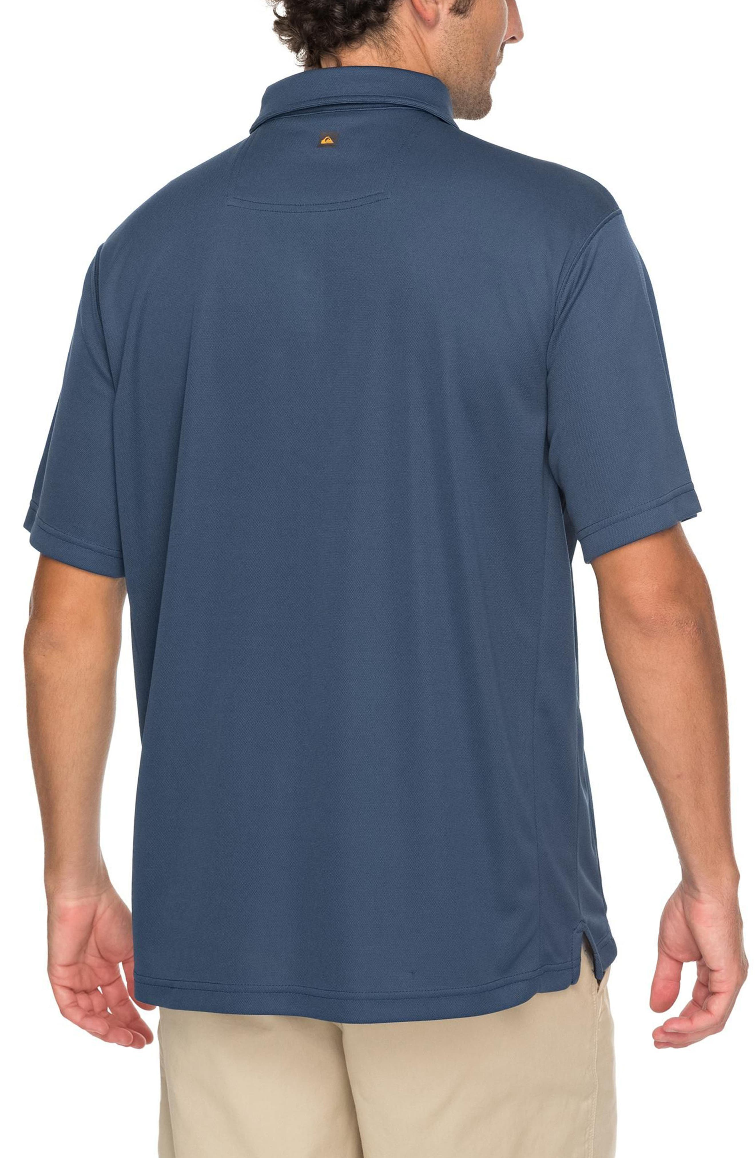 Alternate Image 2  - Quiksilver Waterman Collection Water 2 Technical Polo Shirt