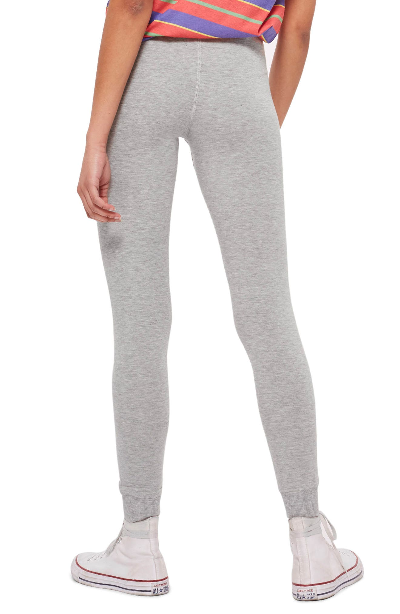 Slim Jogger Pants,                             Alternate thumbnail 2, color,                             Grey Marl