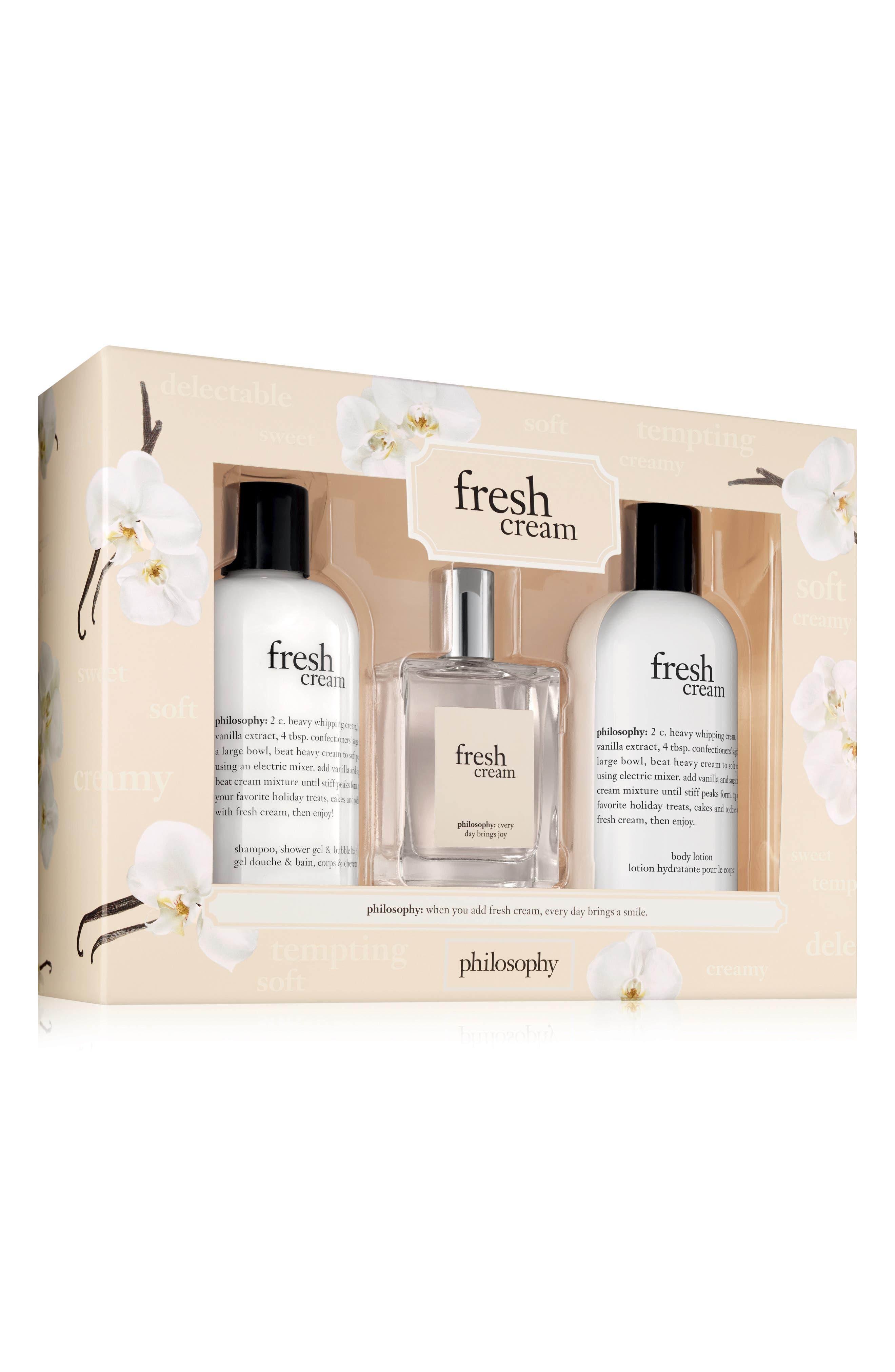 fresh cream set,                         Main,                         color, No Color