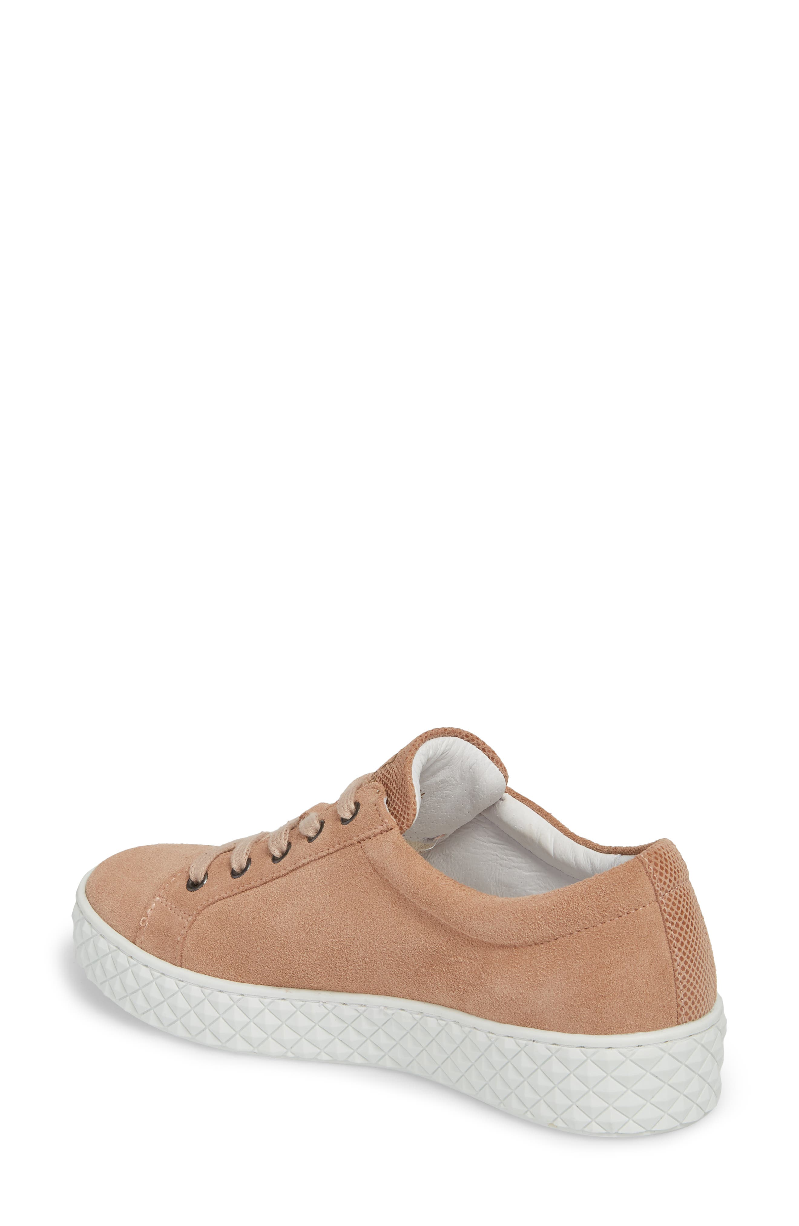 Acton II Sneaker,                             Alternate thumbnail 2, color,                             Dark Cipria Suede