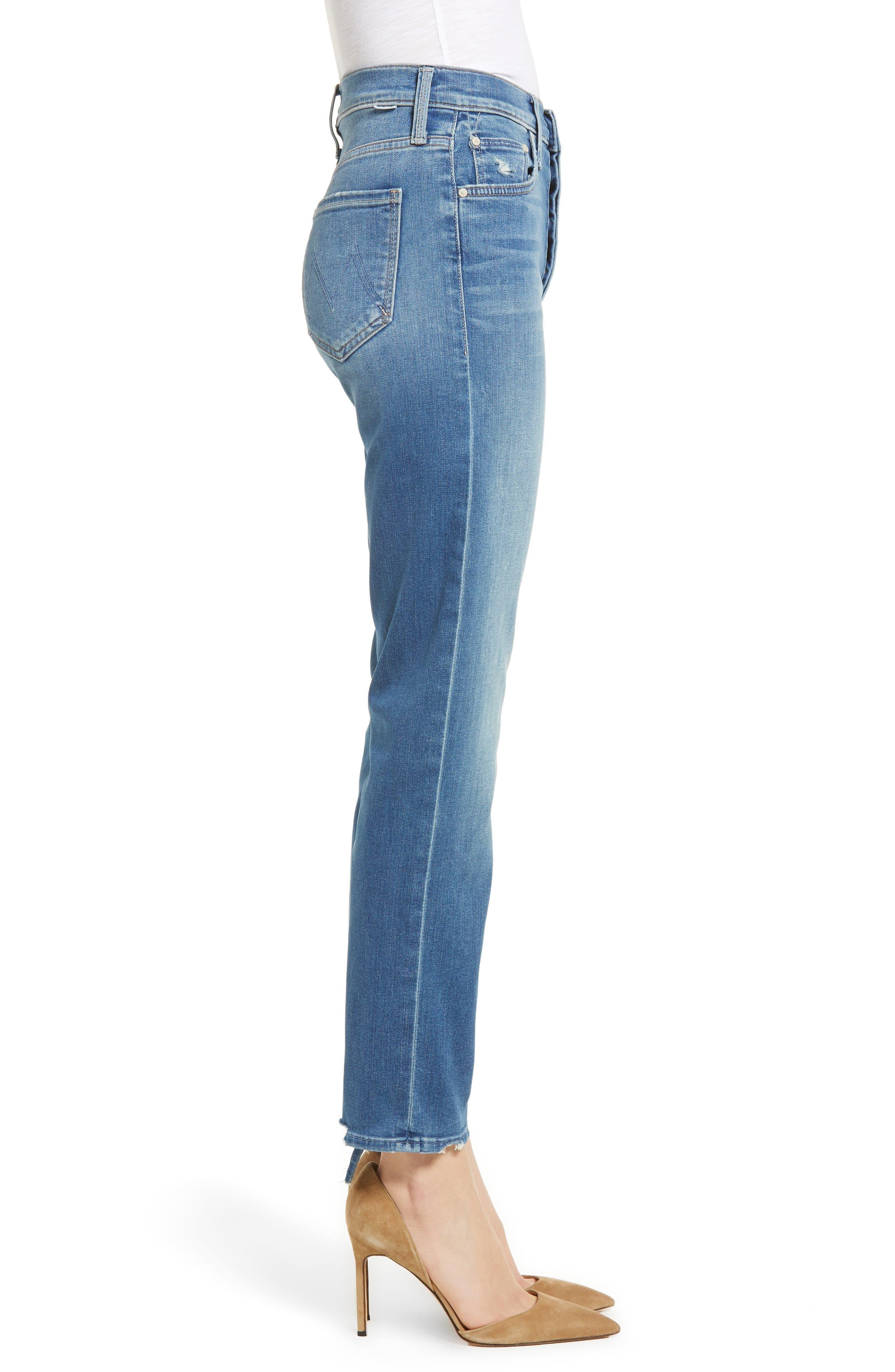 The Tomcat Ankle Straight Leg Jeans,                             Alternate thumbnail 3, color,                             Tequila Mockingbird