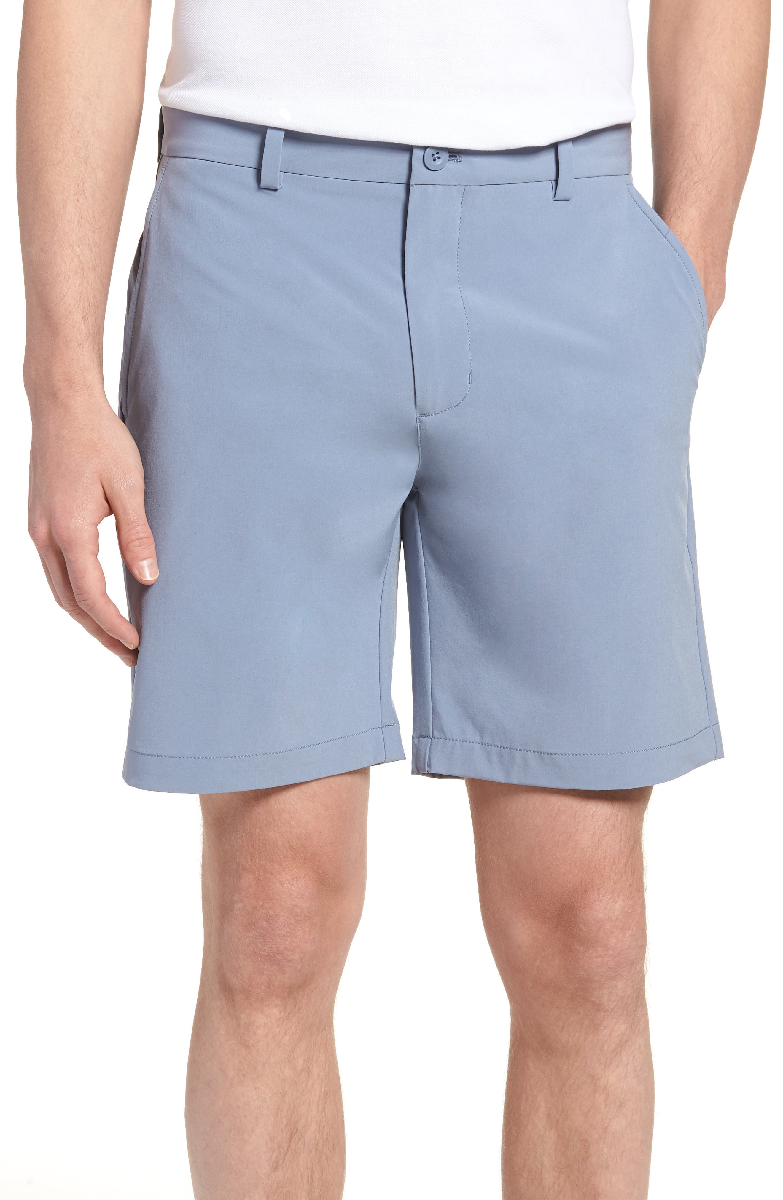 8 Inch Performance Breaker Shorts,                             Main thumbnail 1, color,                             Shark