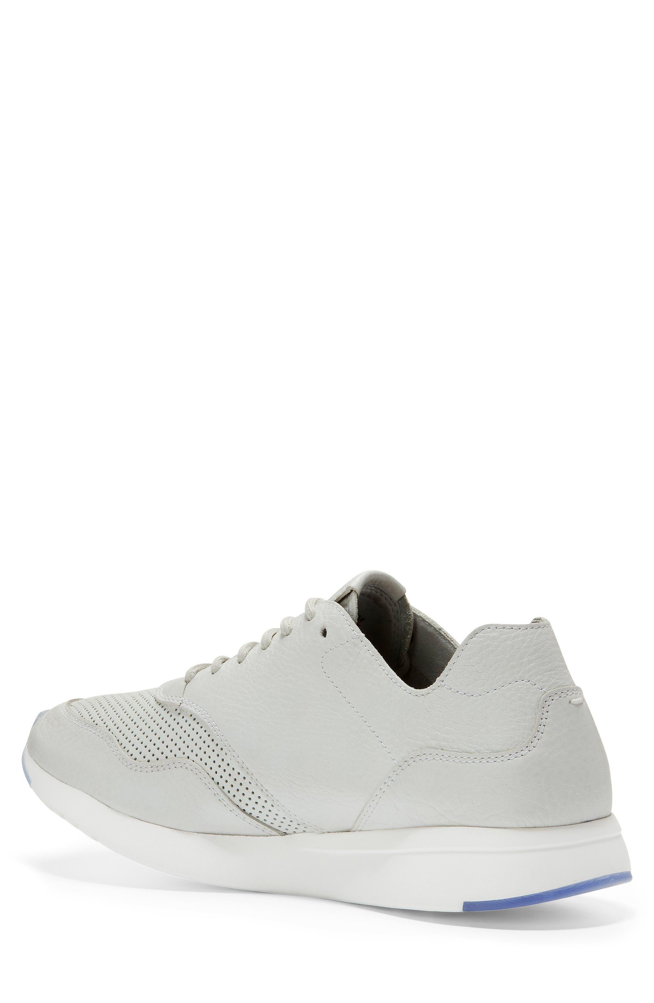 GrandPrø Deconstructed Running Sneaker,                             Alternate thumbnail 2, color,                             White Leather
