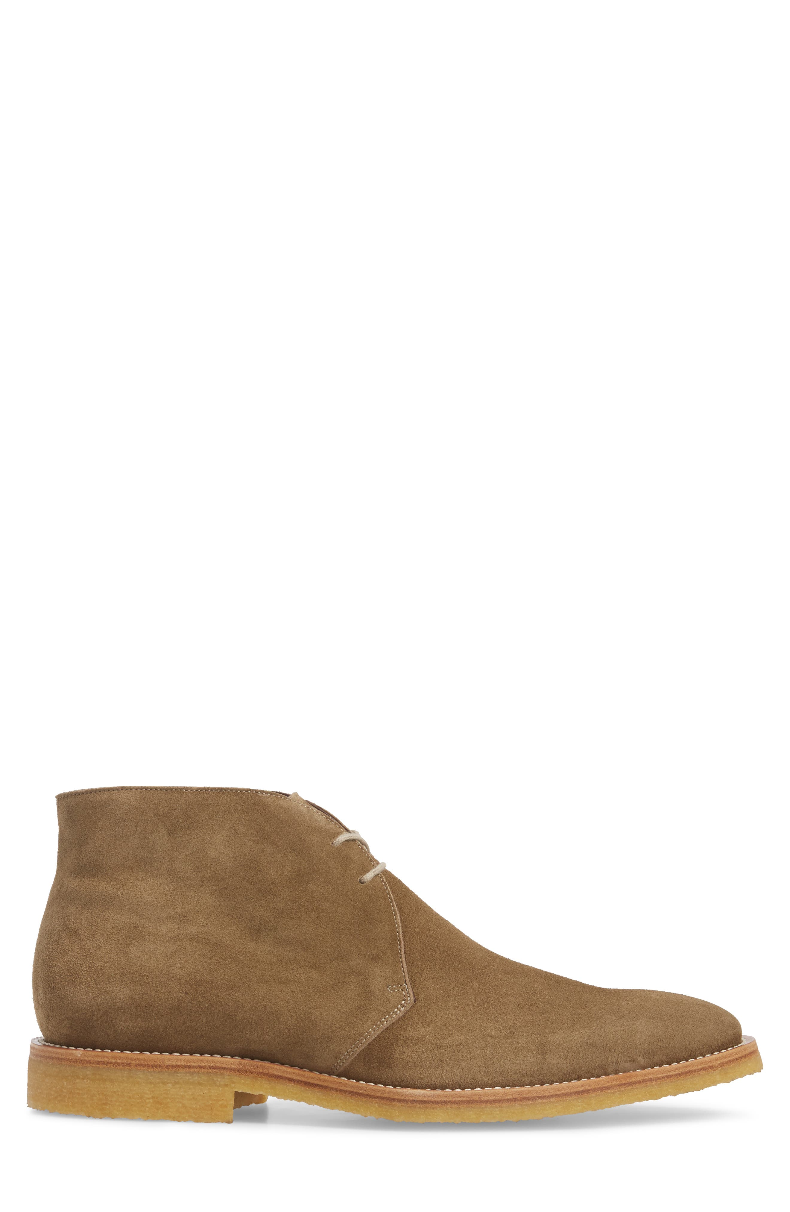 Banker Chukka Boot,                             Alternate thumbnail 3, color,                             Taupe Suede