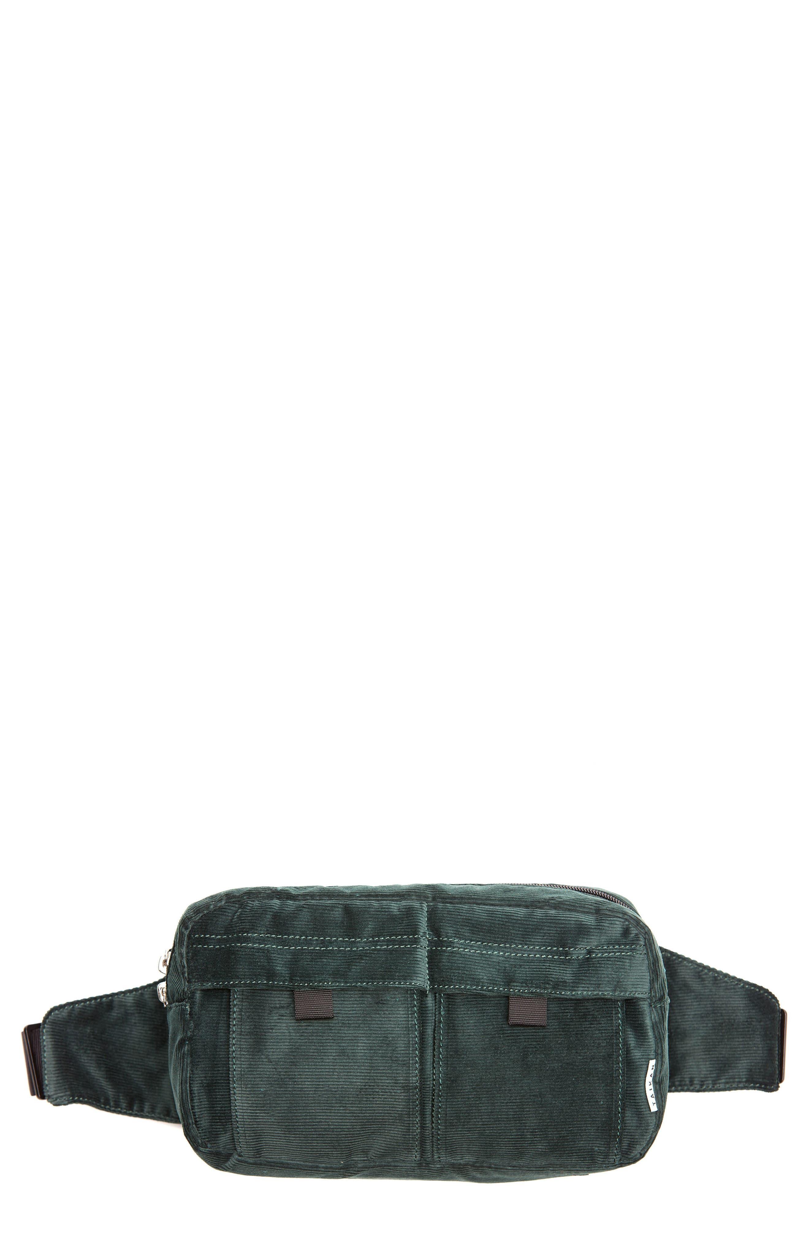 Spectre Corduroy Hip Pack,                         Main,                         color, Forest Corduroy