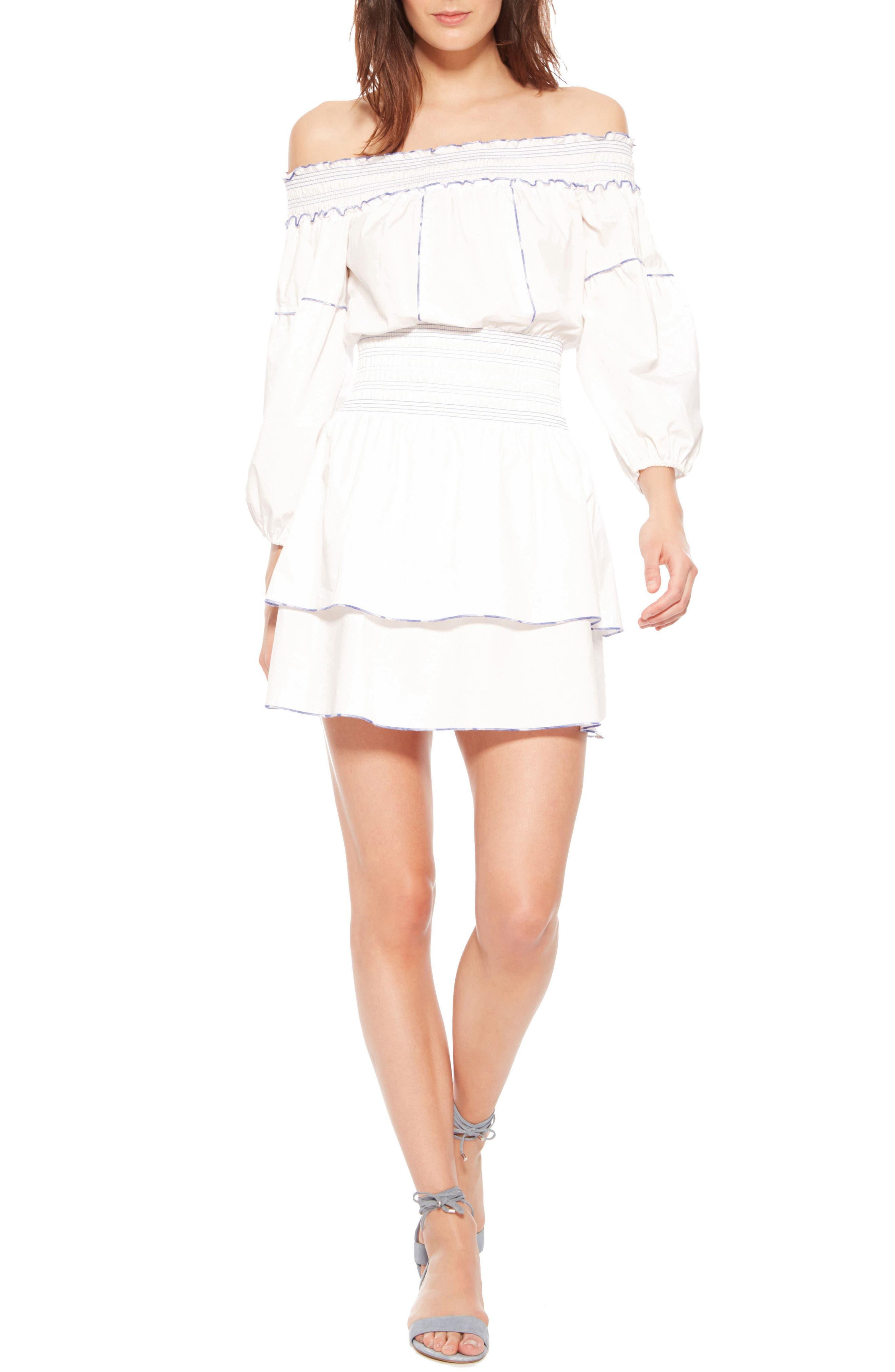 Parker Kara Off the Shoulder Dress