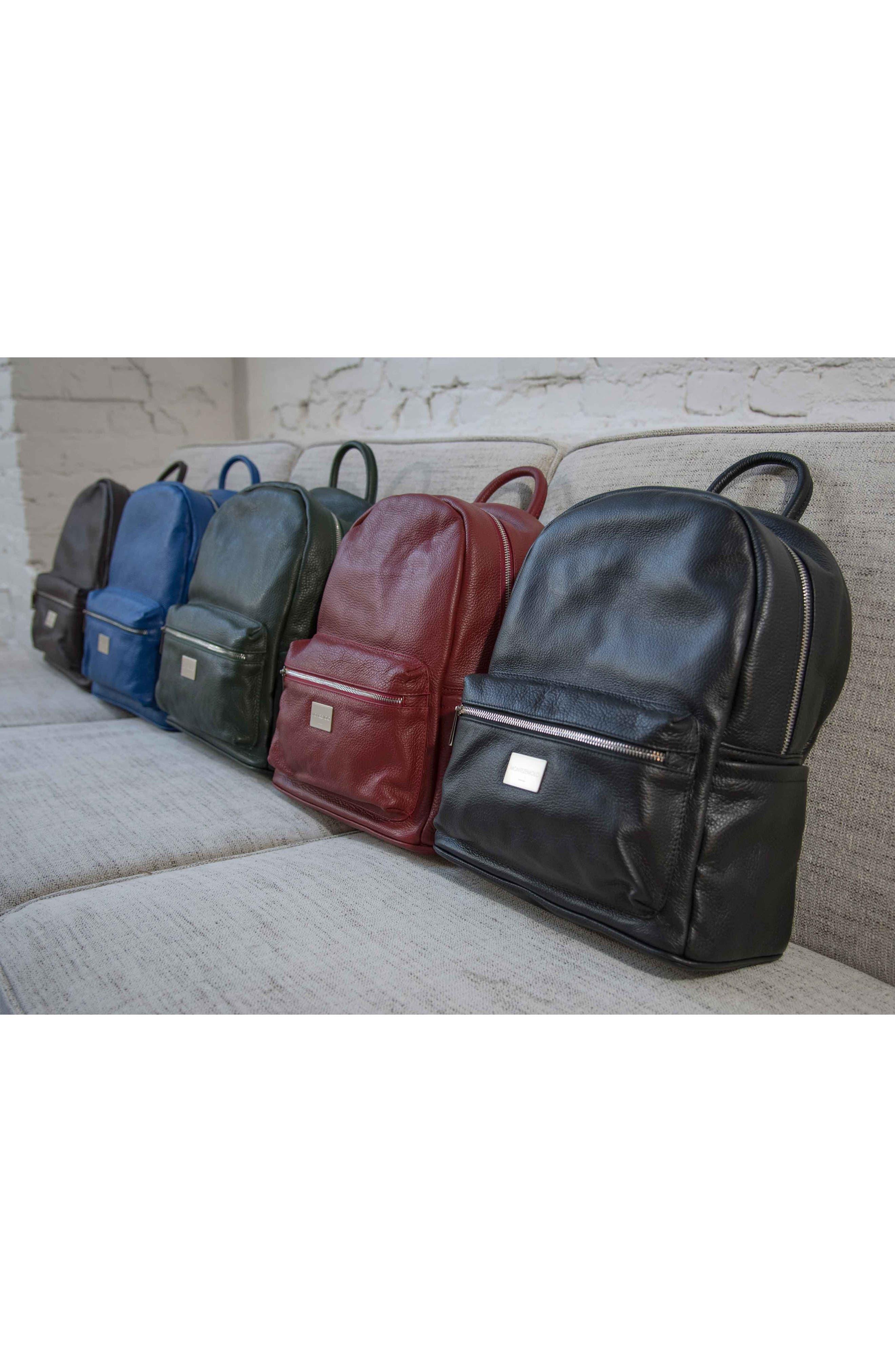 Alternate Image 8  - MONTEZEMOLO Leather Backpack