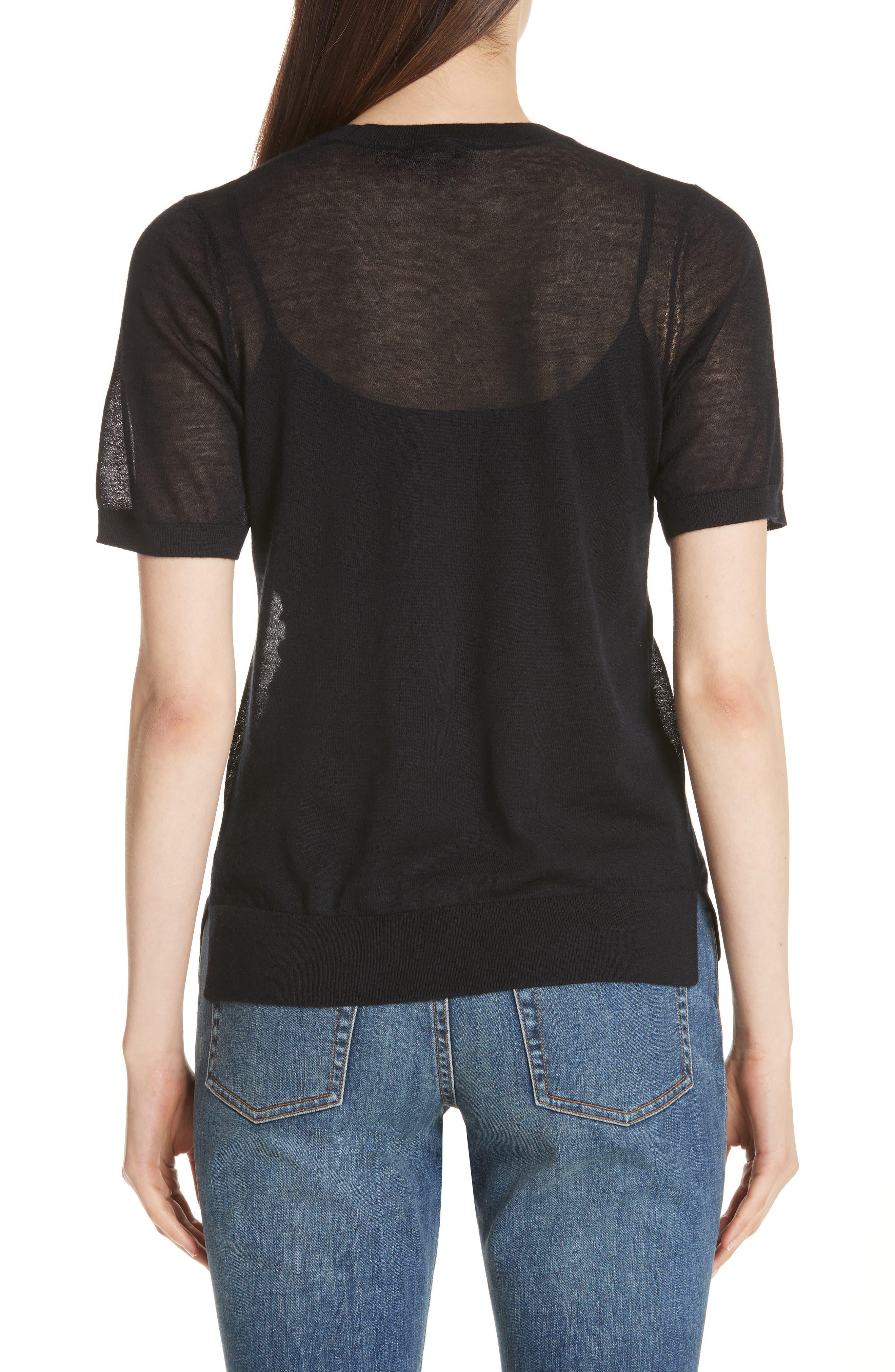 Killik Cashmere Sweater,                             Alternate thumbnail 2, color,                             Black