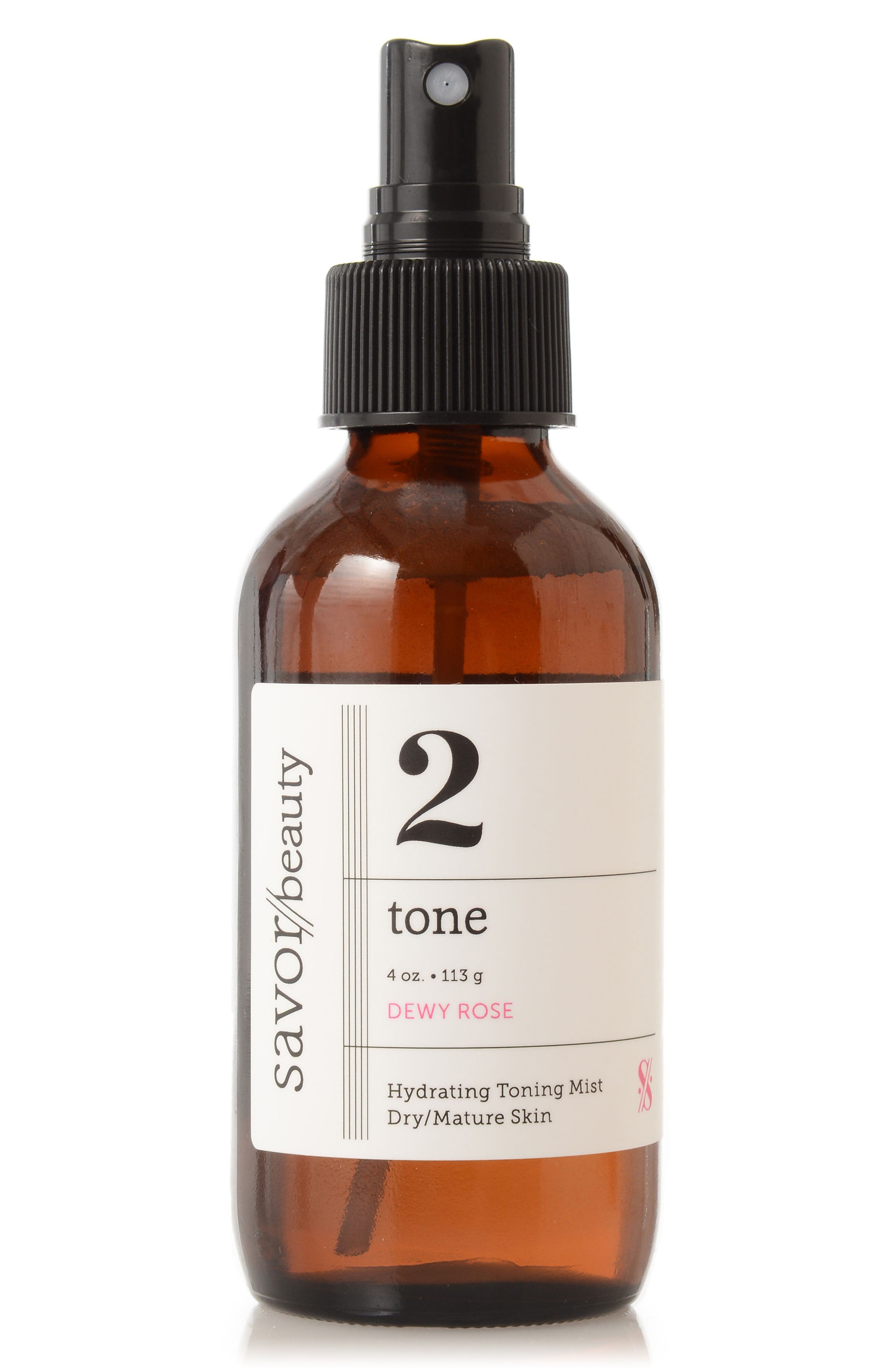 Savor Beauty Tone Dewy Rose Hydrating Toning Mist