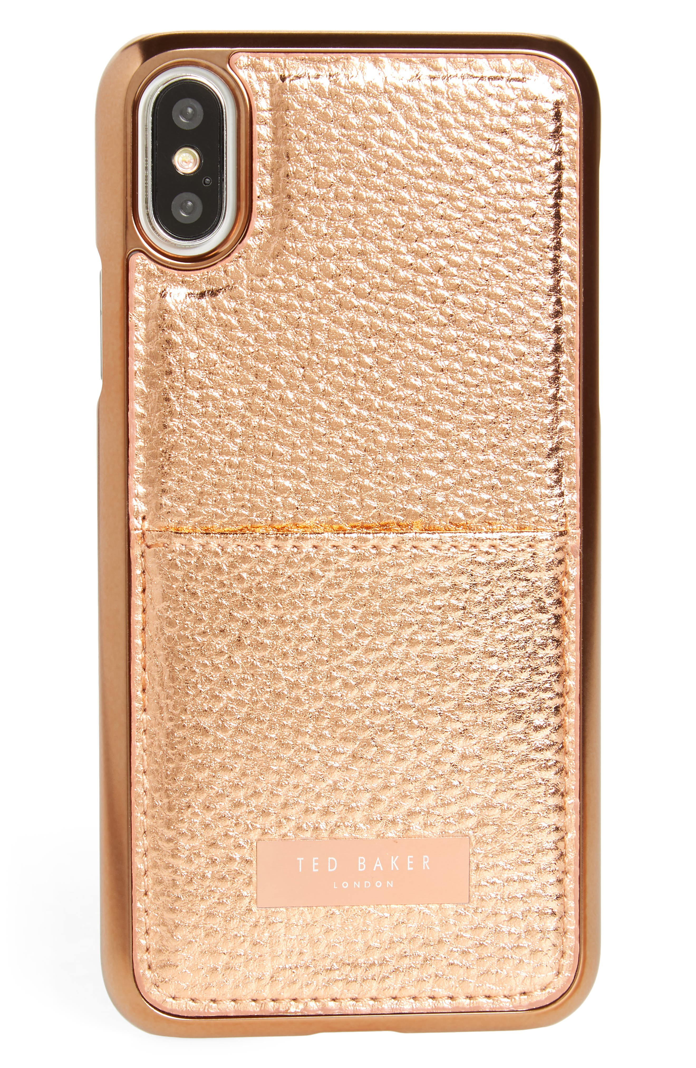 Ted Baker London Korrii Cardholder iPhone X Case