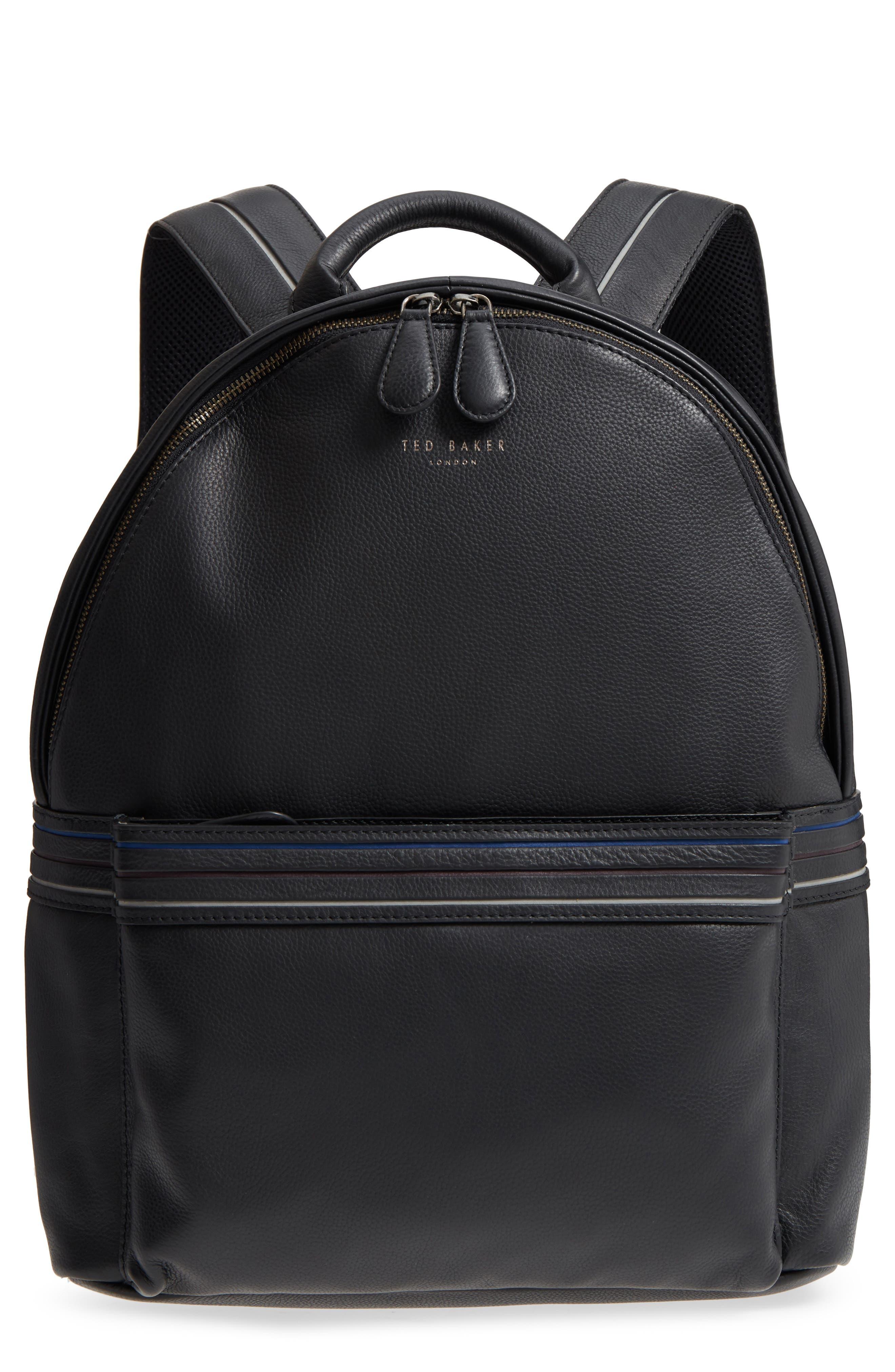 Huntman Stripe Backpack,                             Main thumbnail 1, color,                             Black