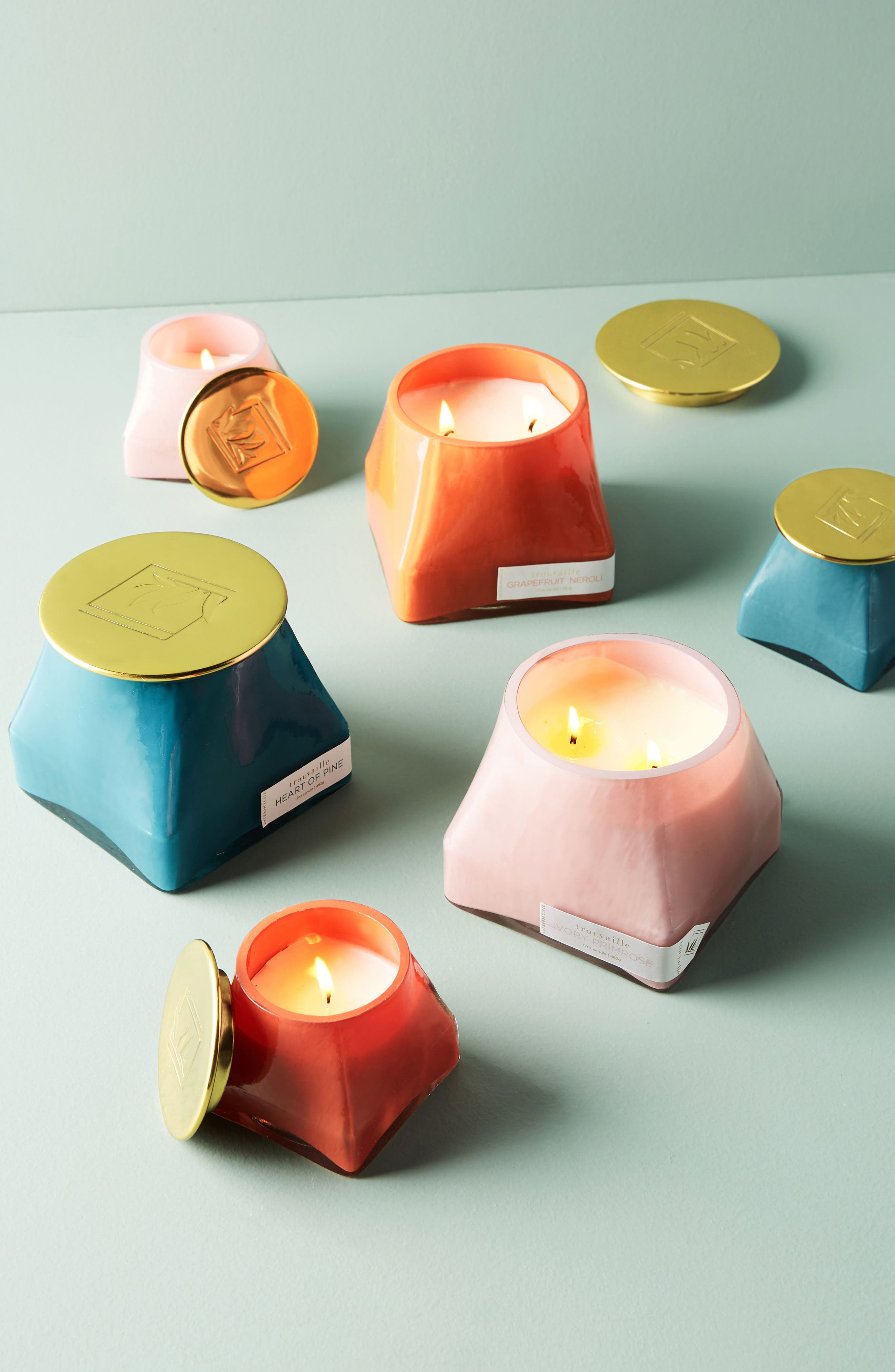 Anthropologie Trouvaille Jar Candle