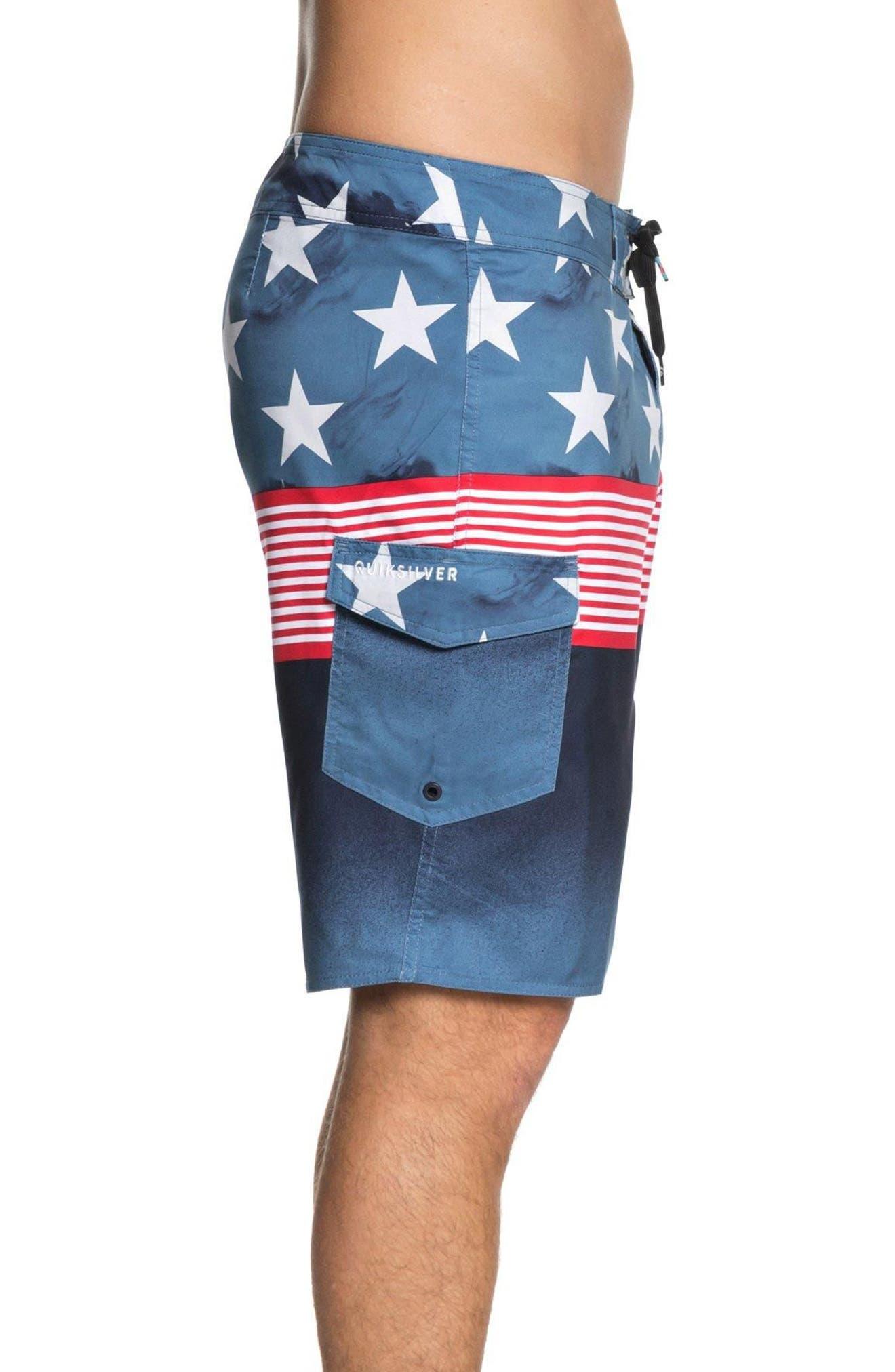 Division Independent Board Shorts,                             Alternate thumbnail 3, color,                             Navy Blazer