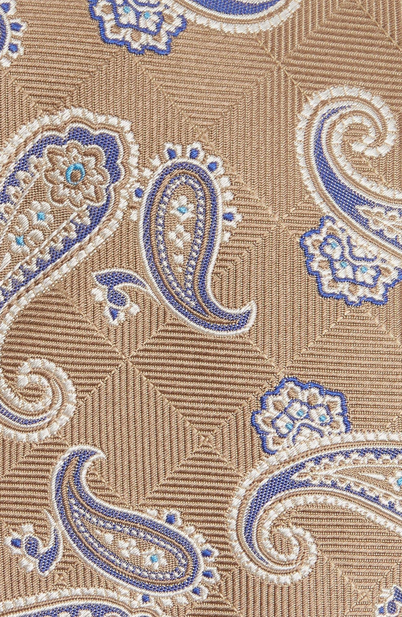 Alternate Image 2  - David Donahue Paisley Silk Tie
