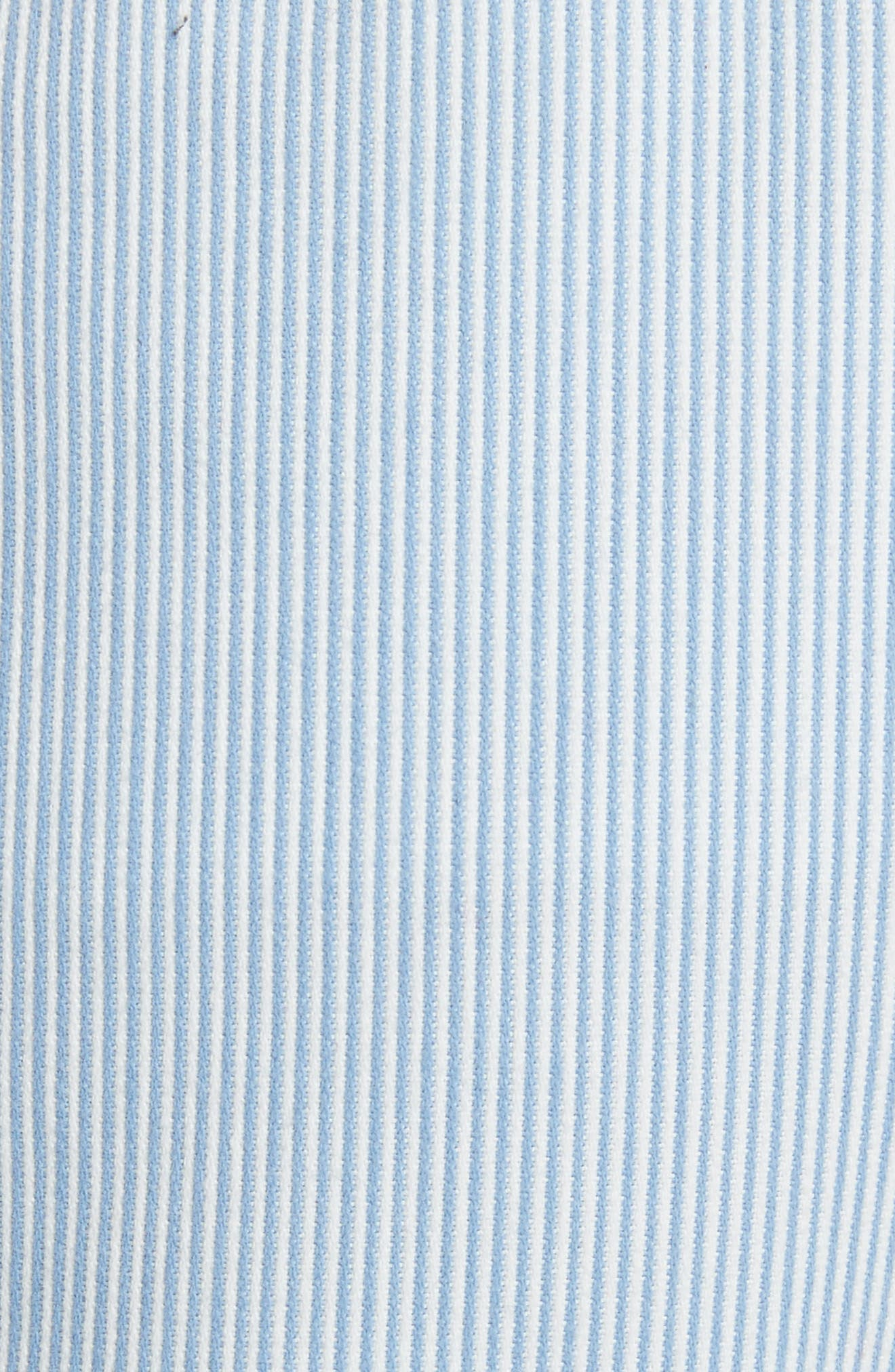 Multi Belt Shorts,                             Alternate thumbnail 5, color,                             Chambray Blue