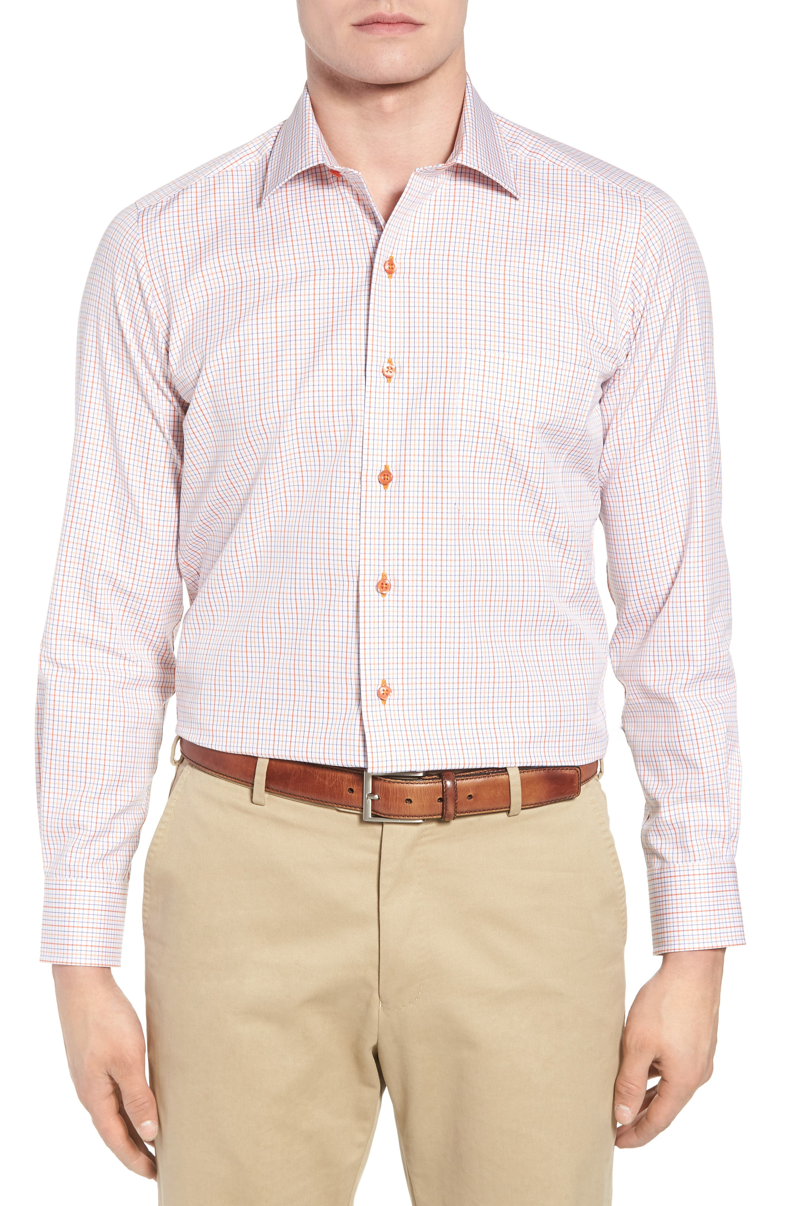 Sport Shirt,                         Main,                         color, Melon