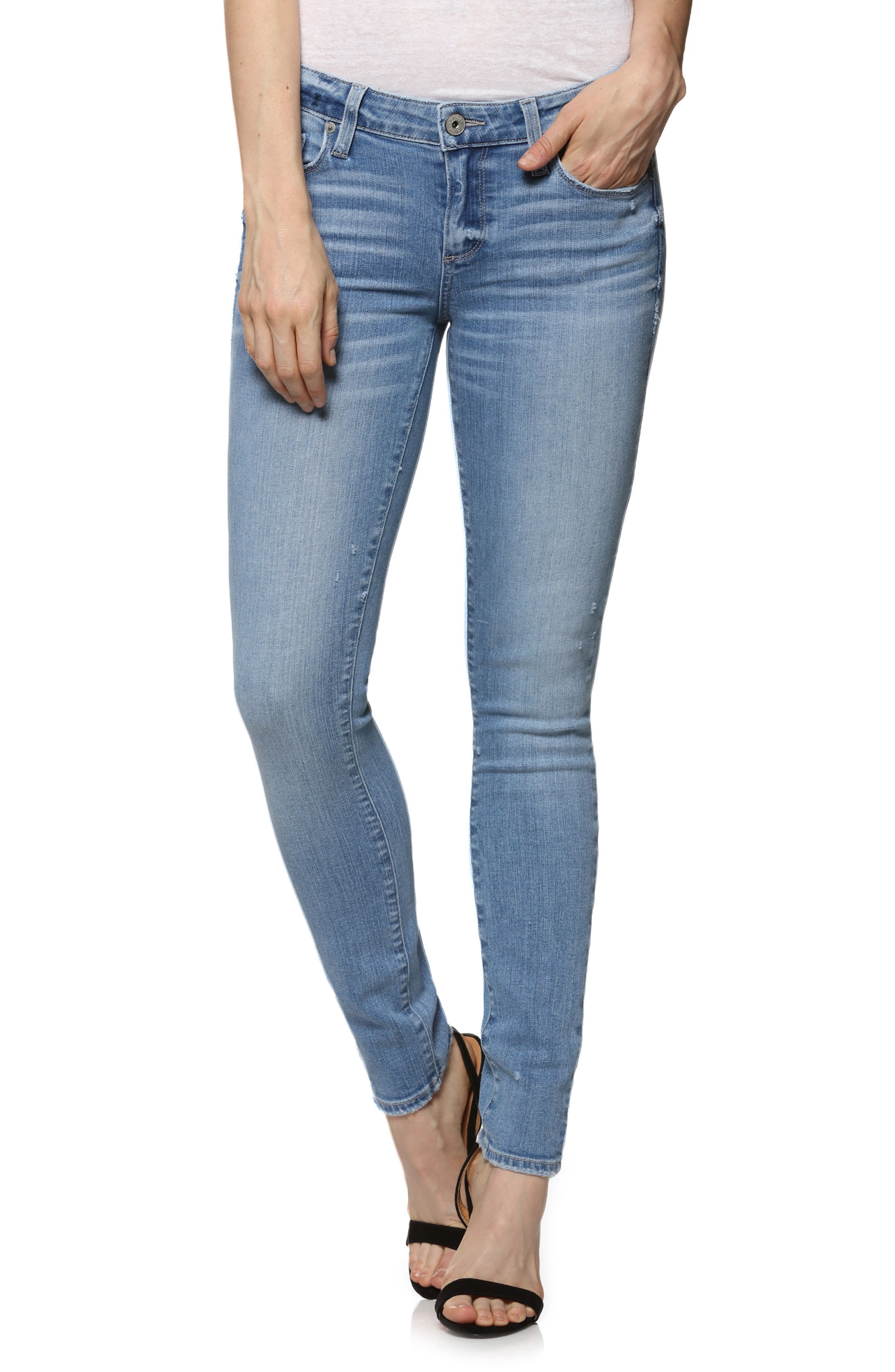 Skyline Ankle Skinny Jeans,                             Main thumbnail 1, color,                             Soto