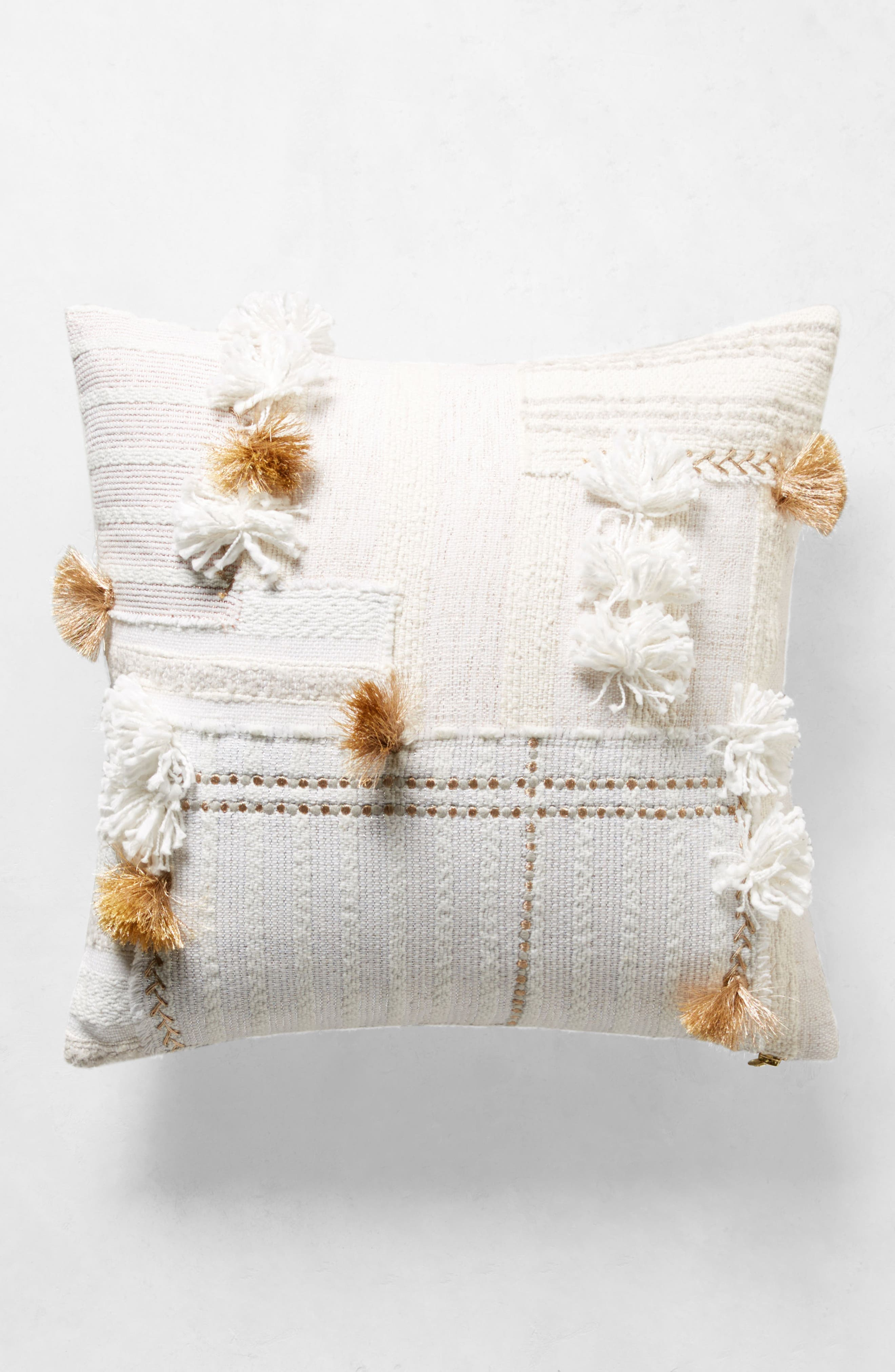 Yoursa Accent Pillow,                             Alternate thumbnail 7, color,                             Ivory
