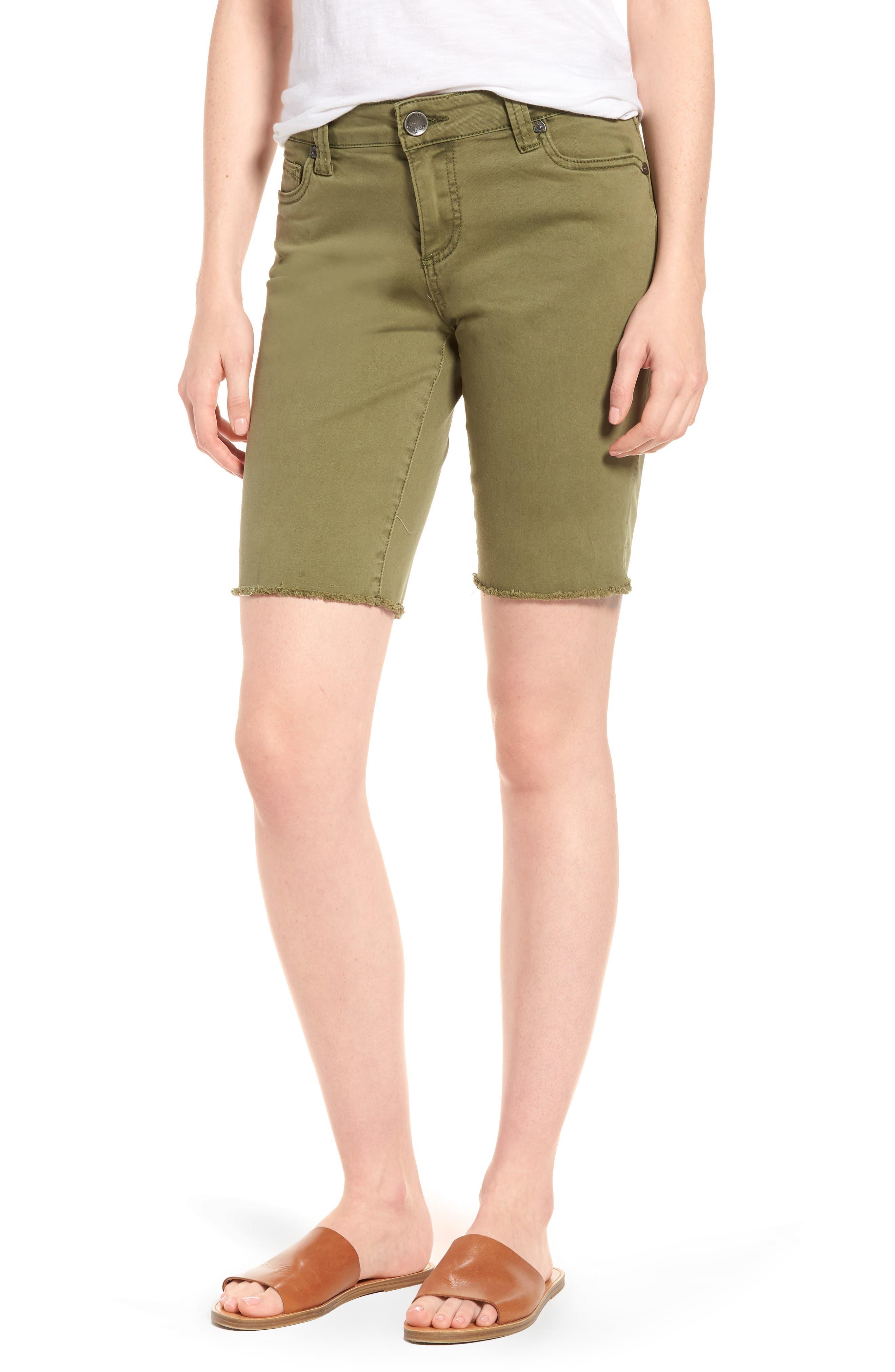 Natalie Bermuda Shorts,                             Main thumbnail 1, color,                             Olive