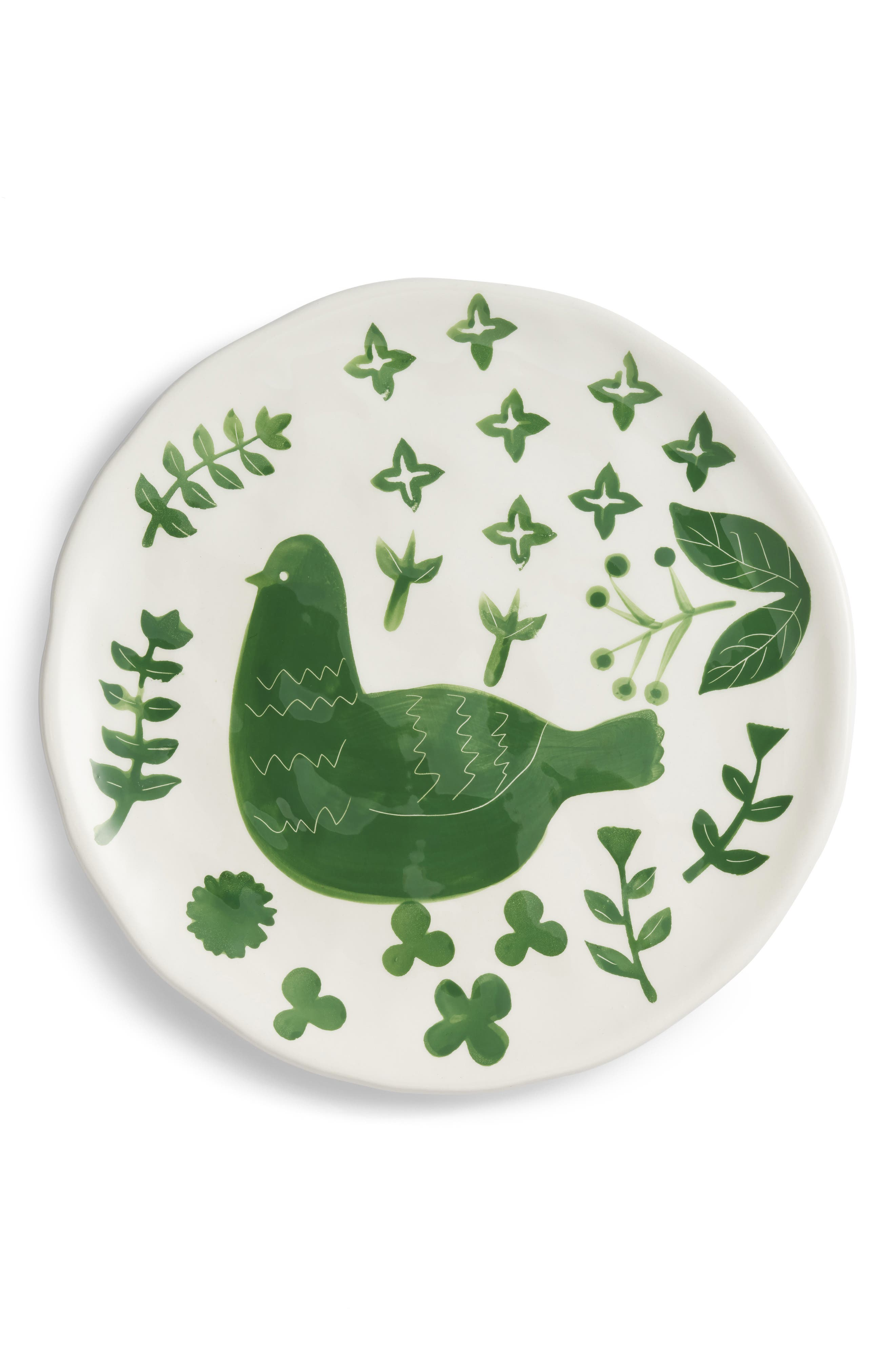 Creative Co Op Hand Painted Plate