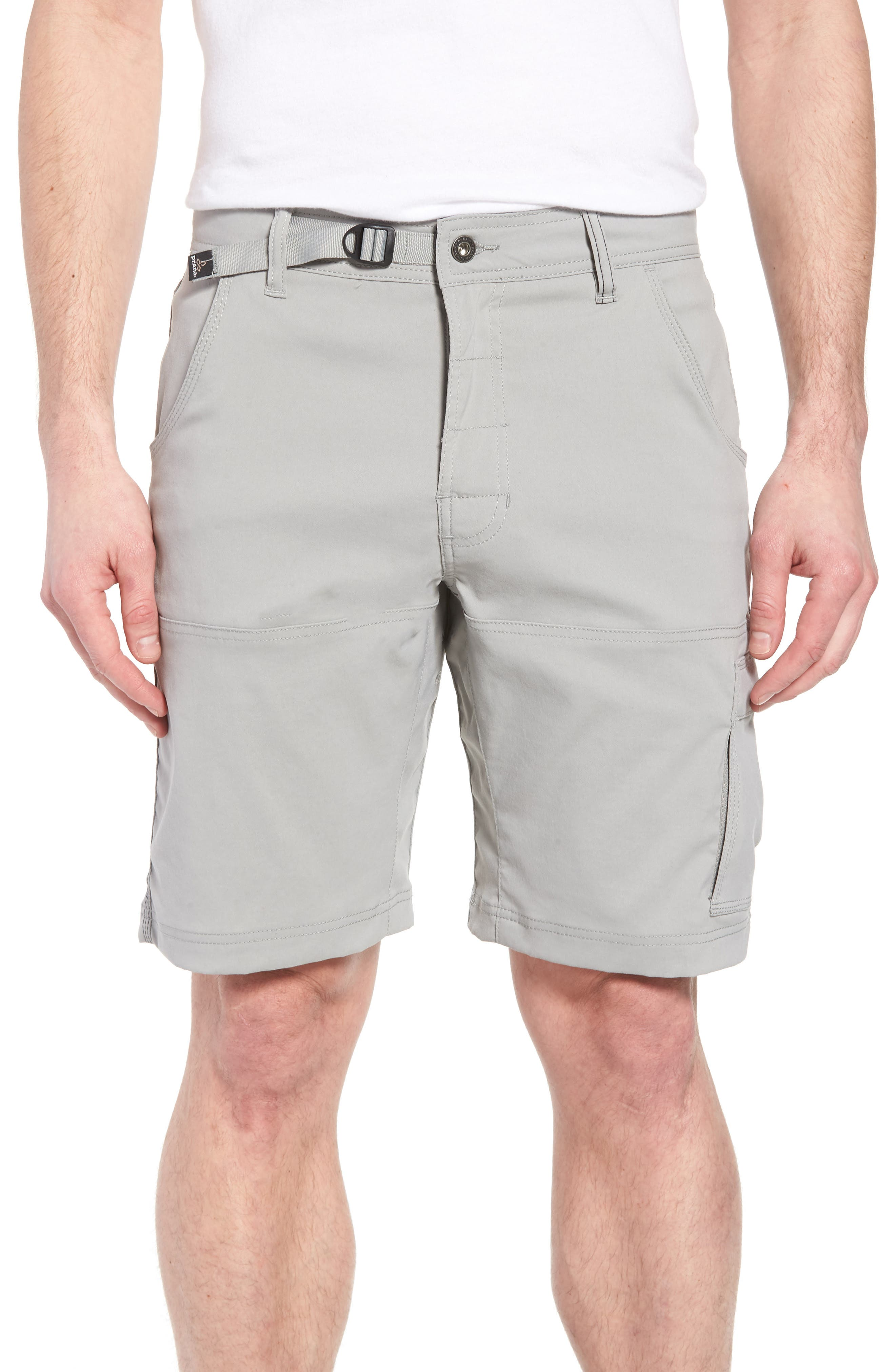 Zion Stretch Shorts,                         Main,                         color, Grey