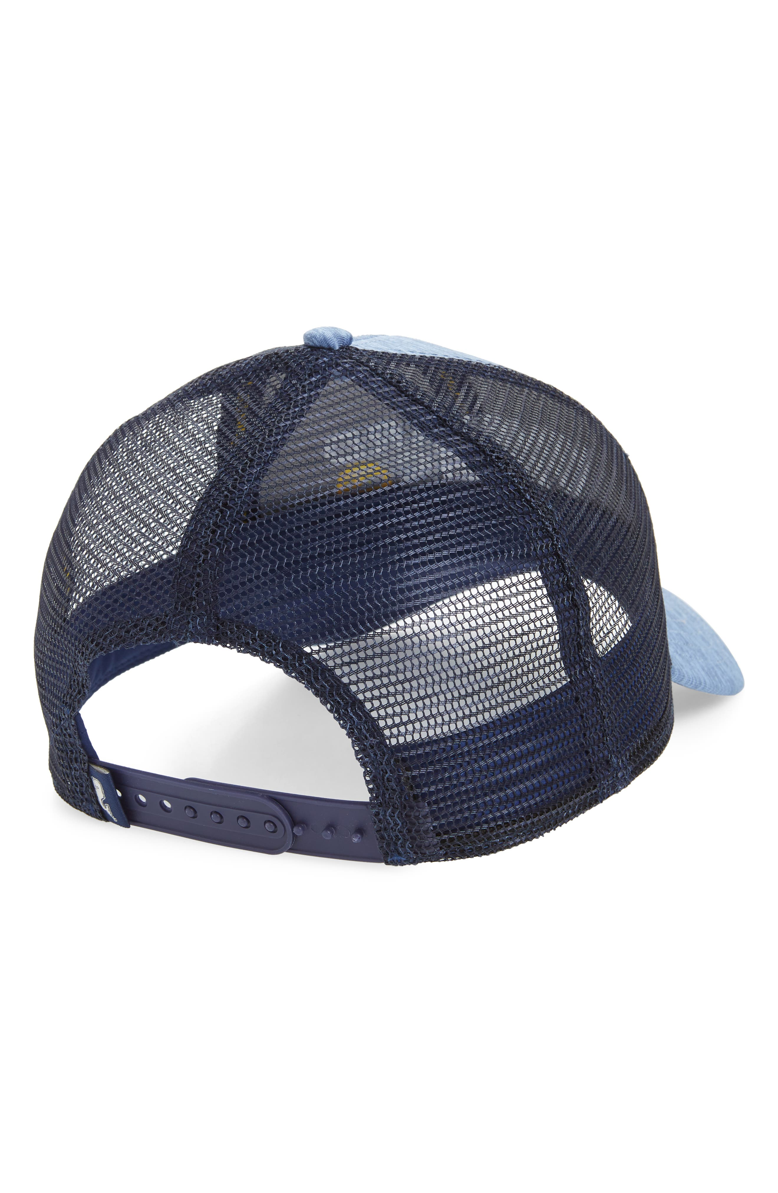 Performance Space Dyed Trucker Hat,                             Alternate thumbnail 2, color,                             Summer Evening