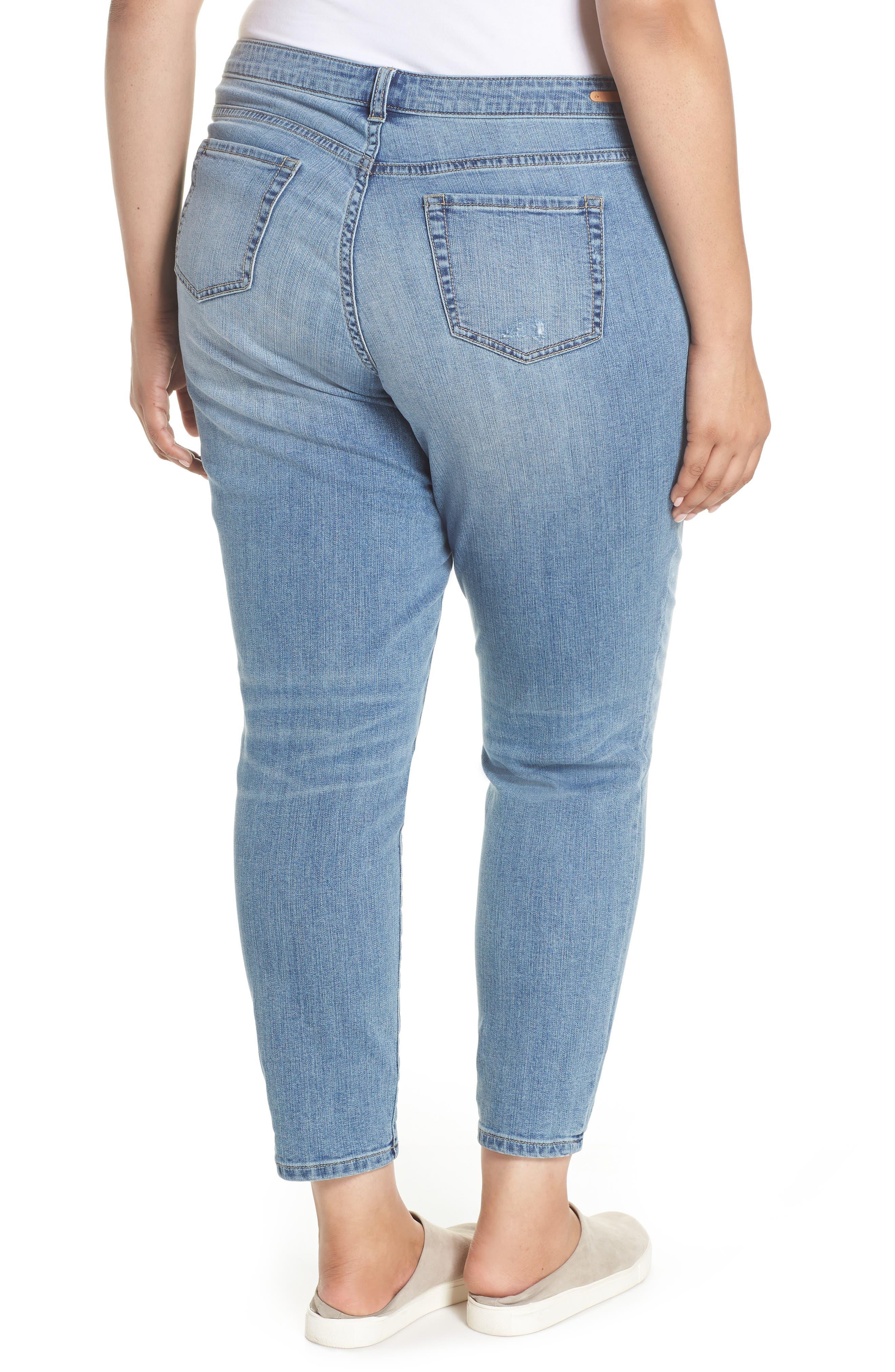 Distressed Jeans,                             Alternate thumbnail 2, color,                             Medium Destruct