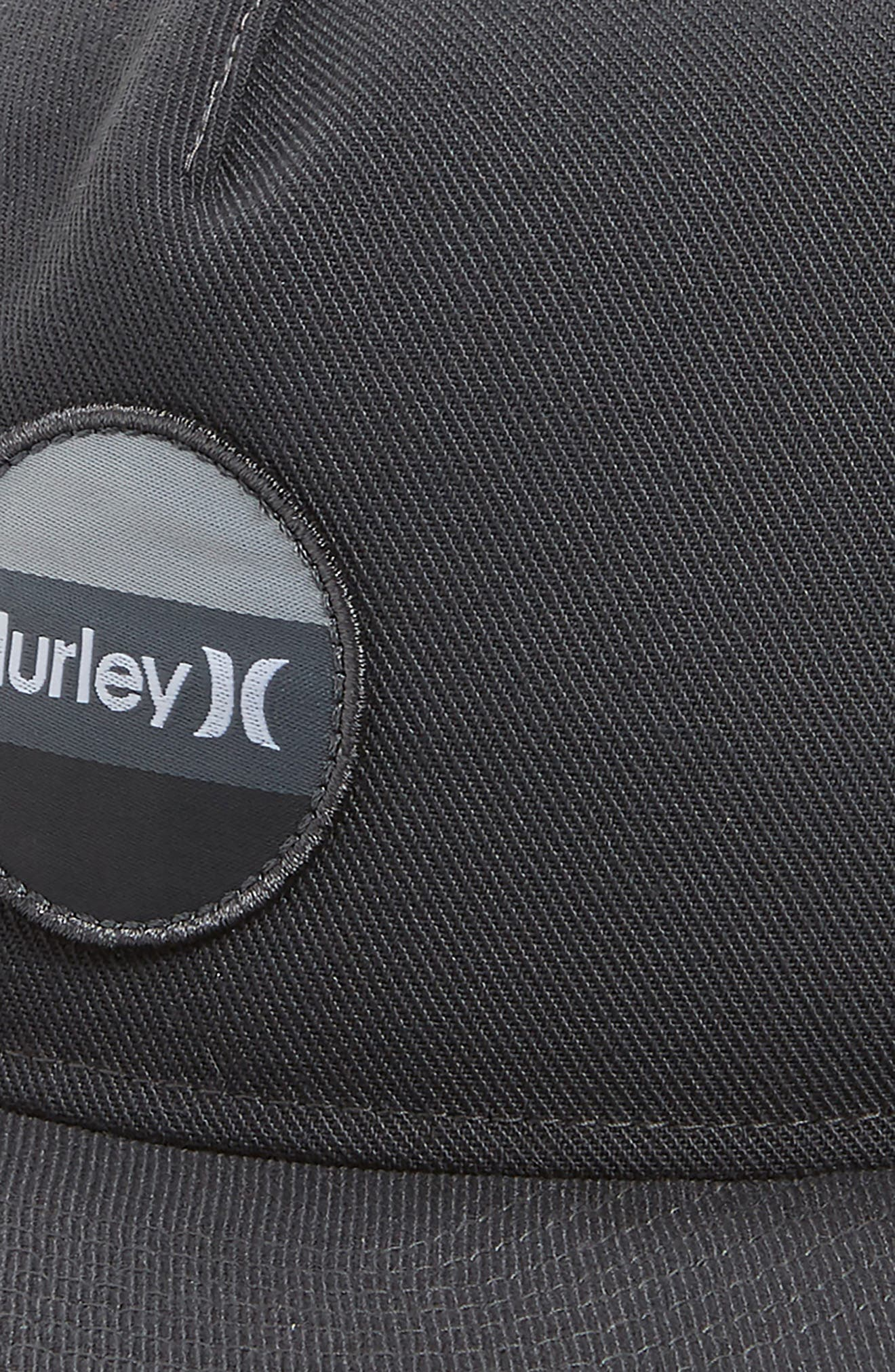 Circular Logo Patch Hat,                             Alternate thumbnail 3, color,                             Anthracite