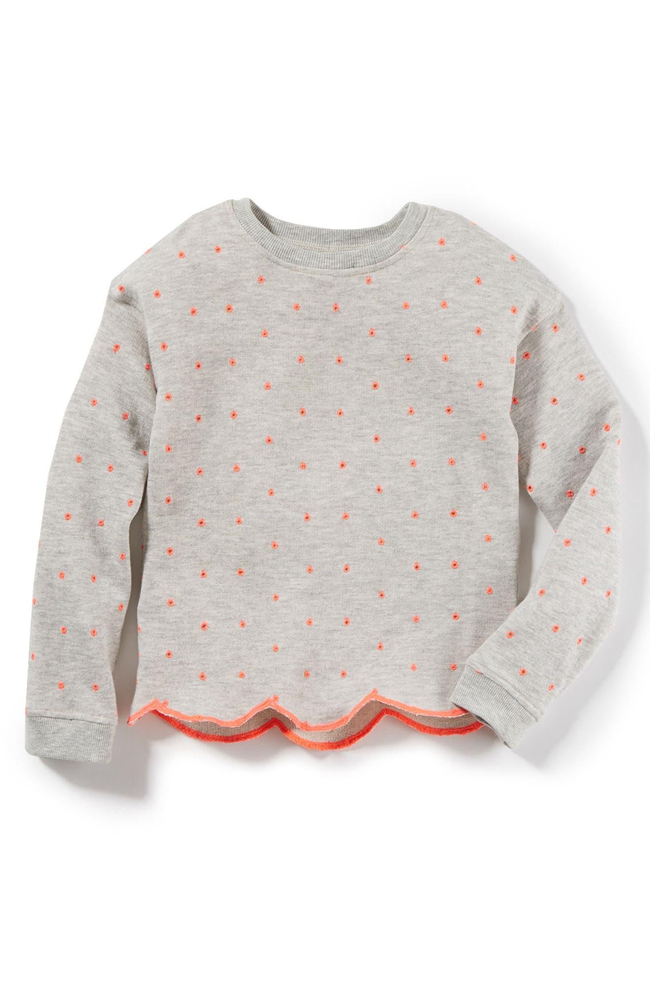 Ariel Sweater,                         Main,                         color, Heather Grey