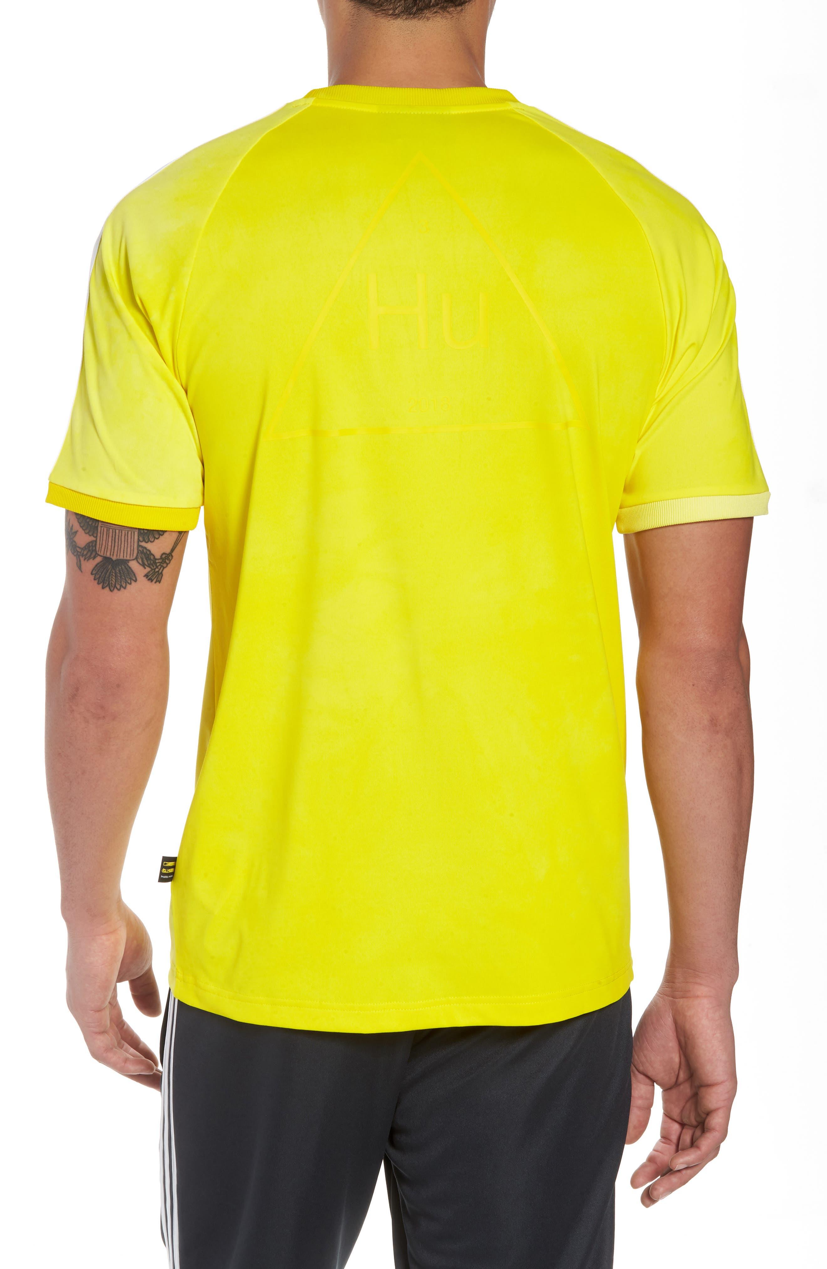 adidas Original Hu Holi T-Shirt,                             Alternate thumbnail 2, color,                             Yellow