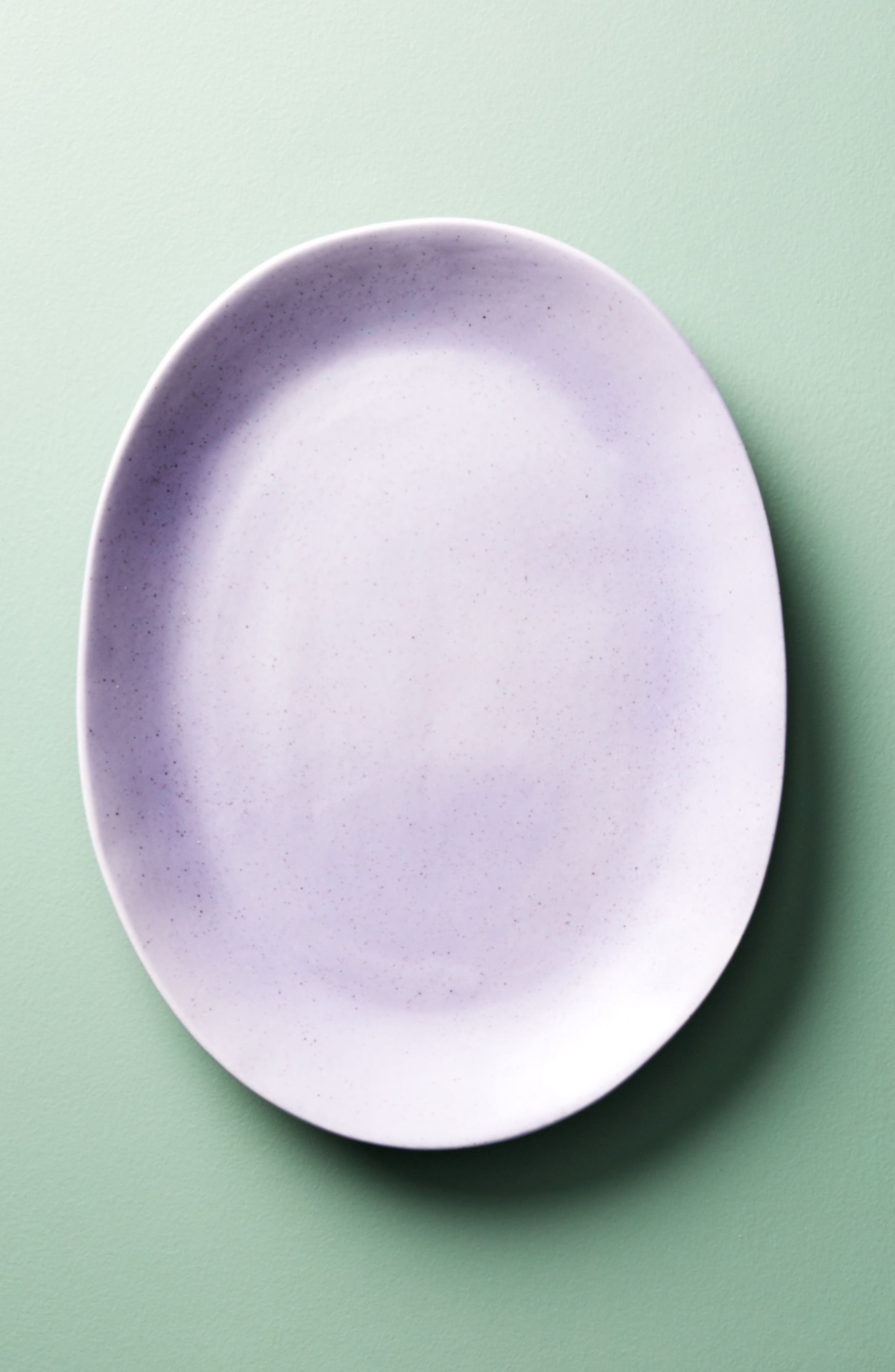Alternate Image 1 Selected - Anthropologie Color Study Earthenware Serving Plate