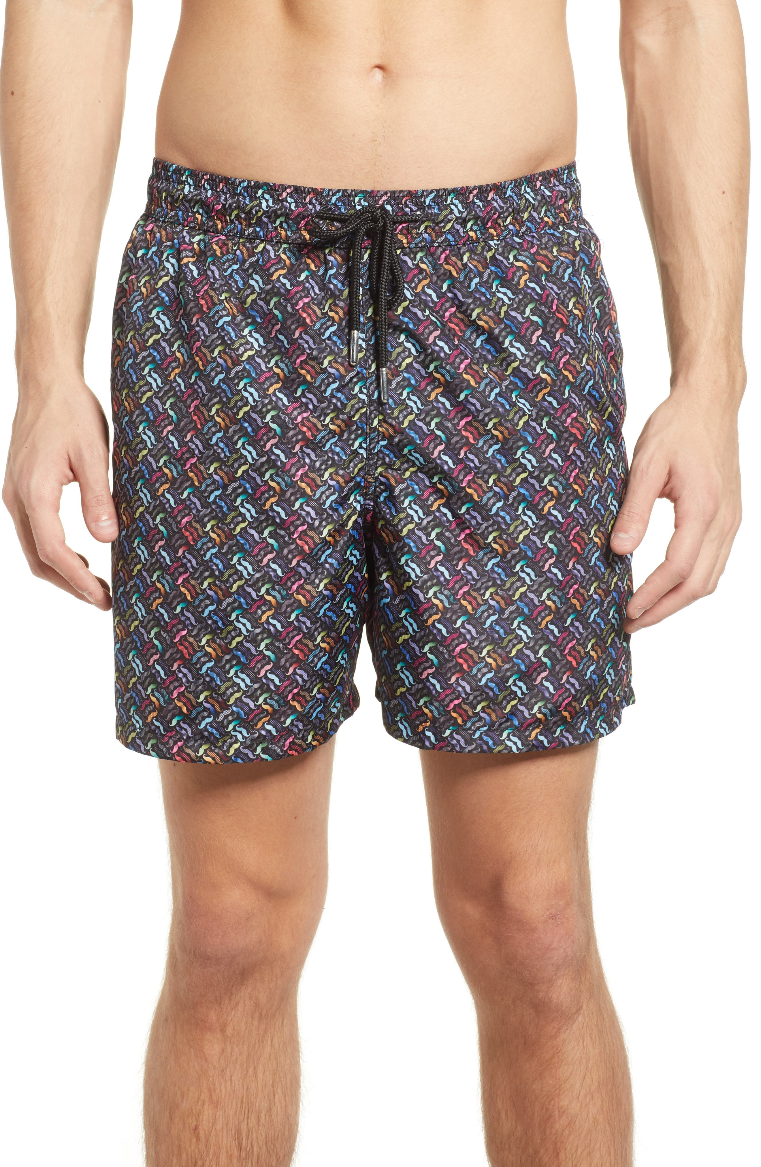 Jared Lang Trim Fit Swim Shorts