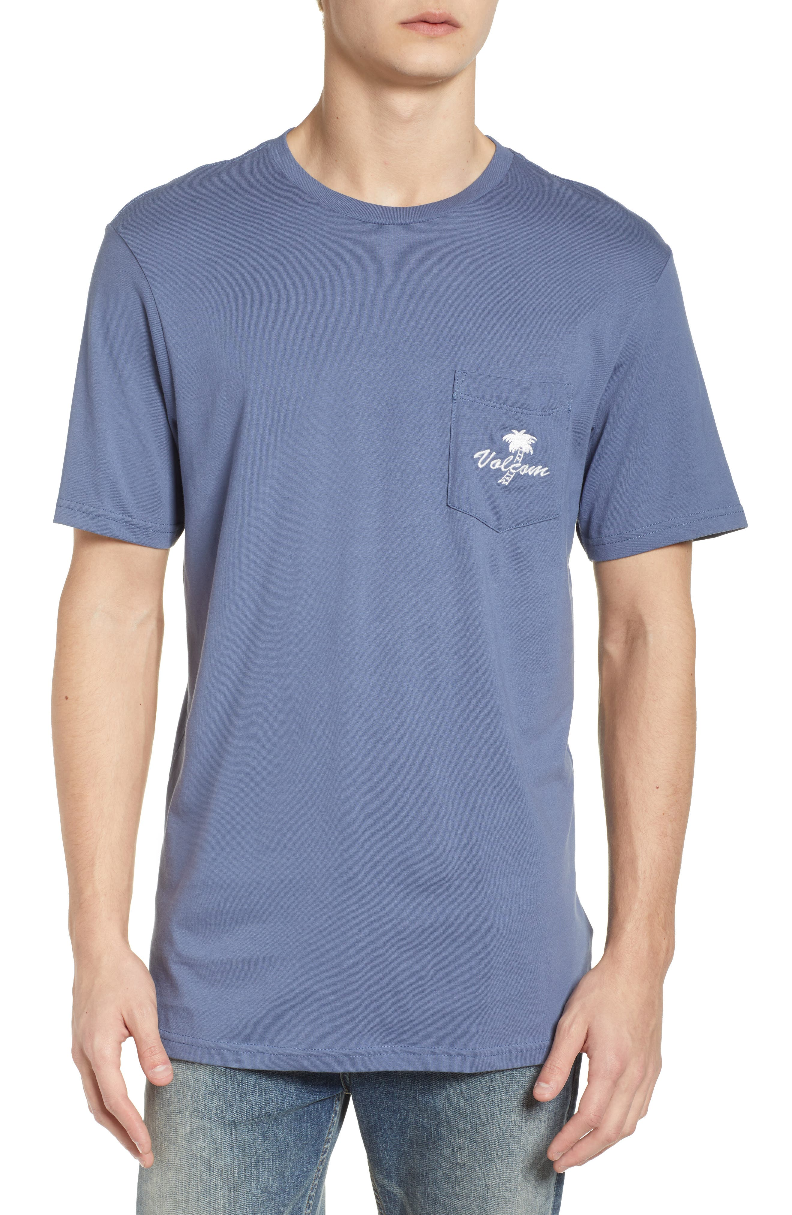 Last Resort Pocket T-Shirt,                         Main,                         color, Deep Blue