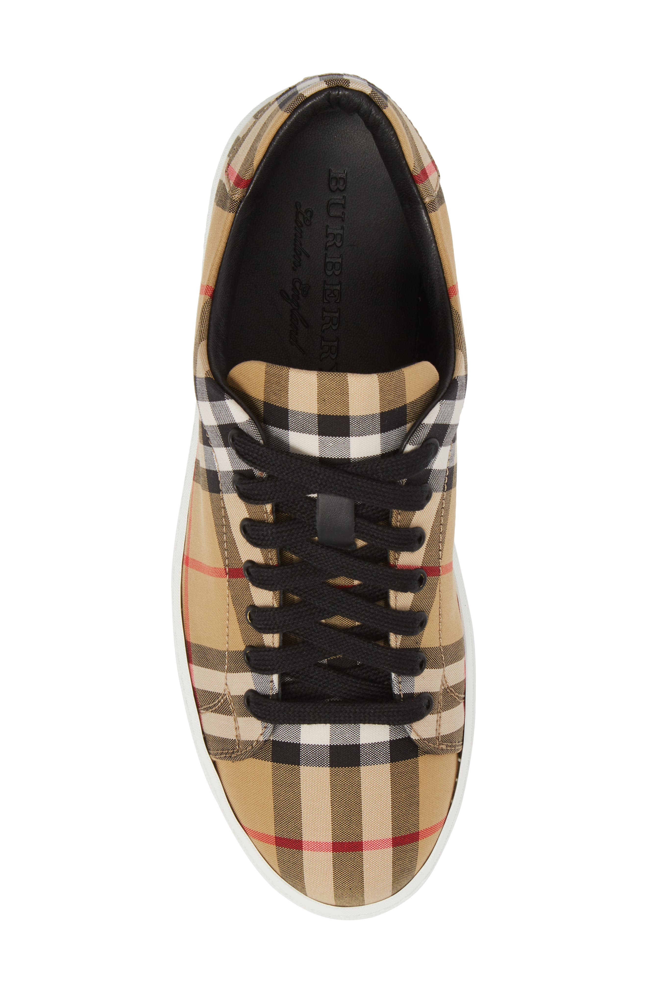 Westford Check Sneaker,                             Alternate thumbnail 5, color,                             Antique Yellow