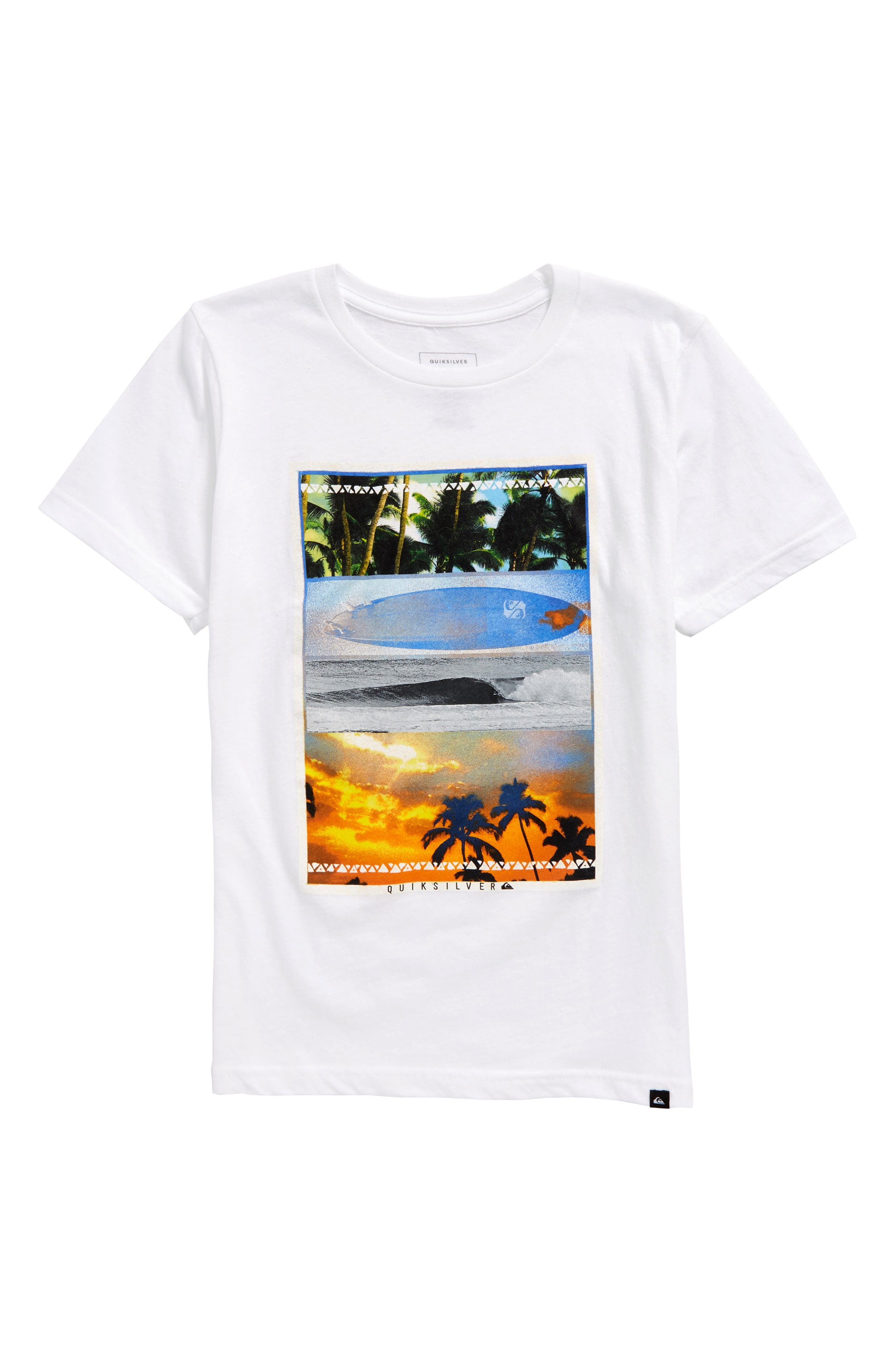 Places to Be Graphic T-Shirt,                             Main thumbnail 1, color,                             White