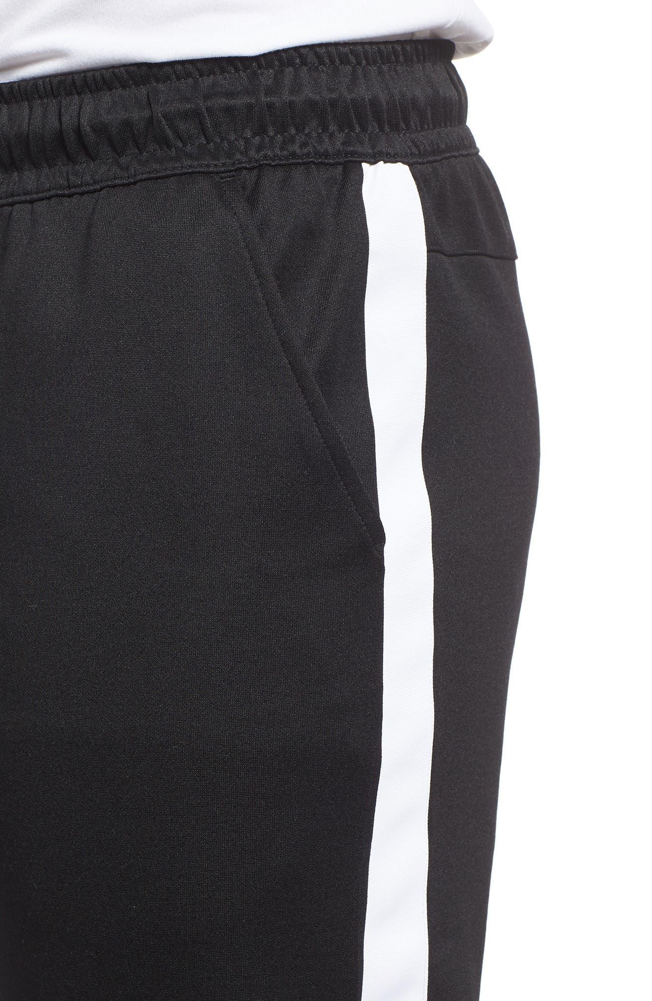 NSW Tribute Jogger Pants,                             Alternate thumbnail 4, color,                             Black/ White/ White