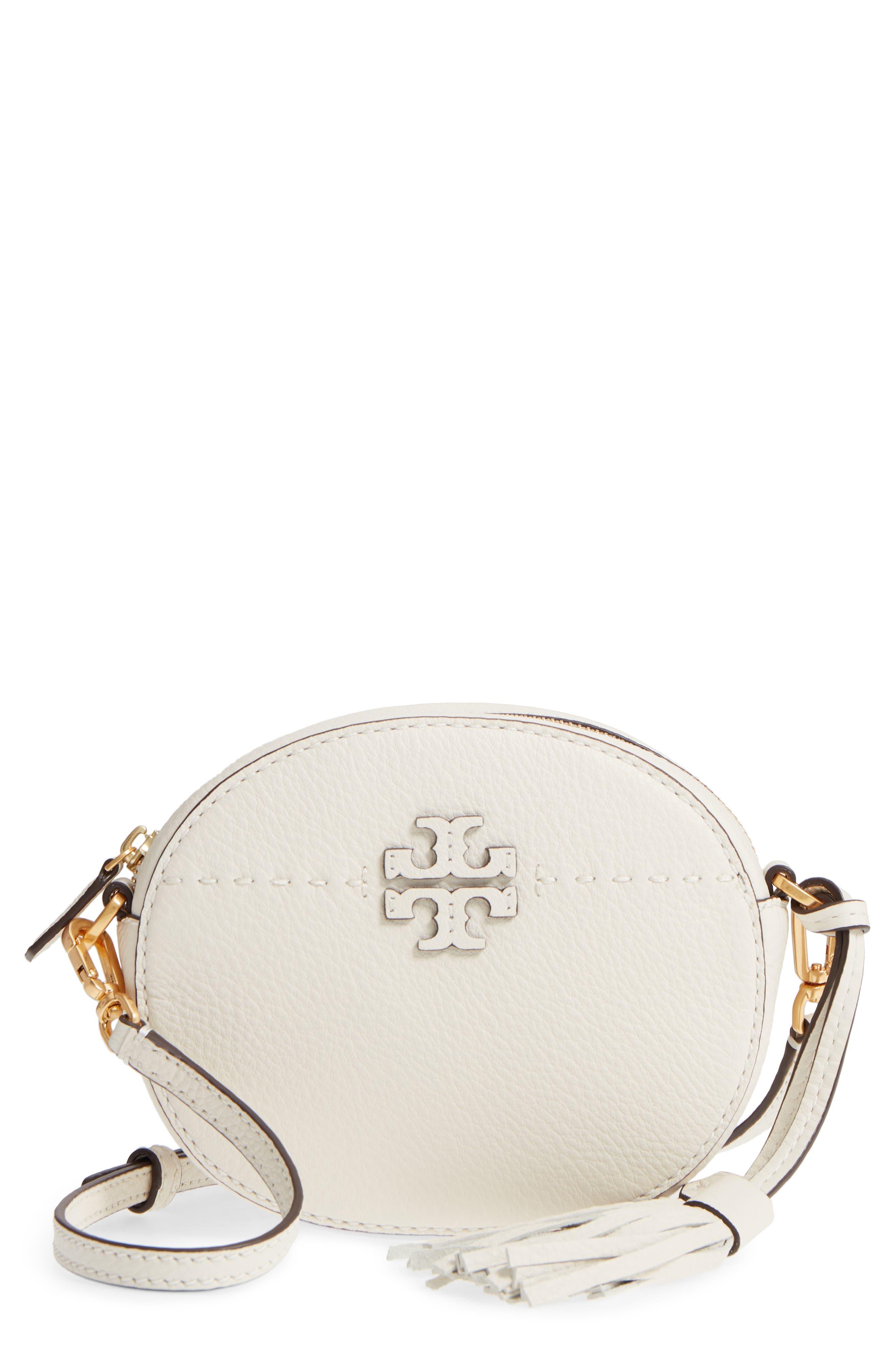 Tory Burch McGraw Leather Crossbody Bag