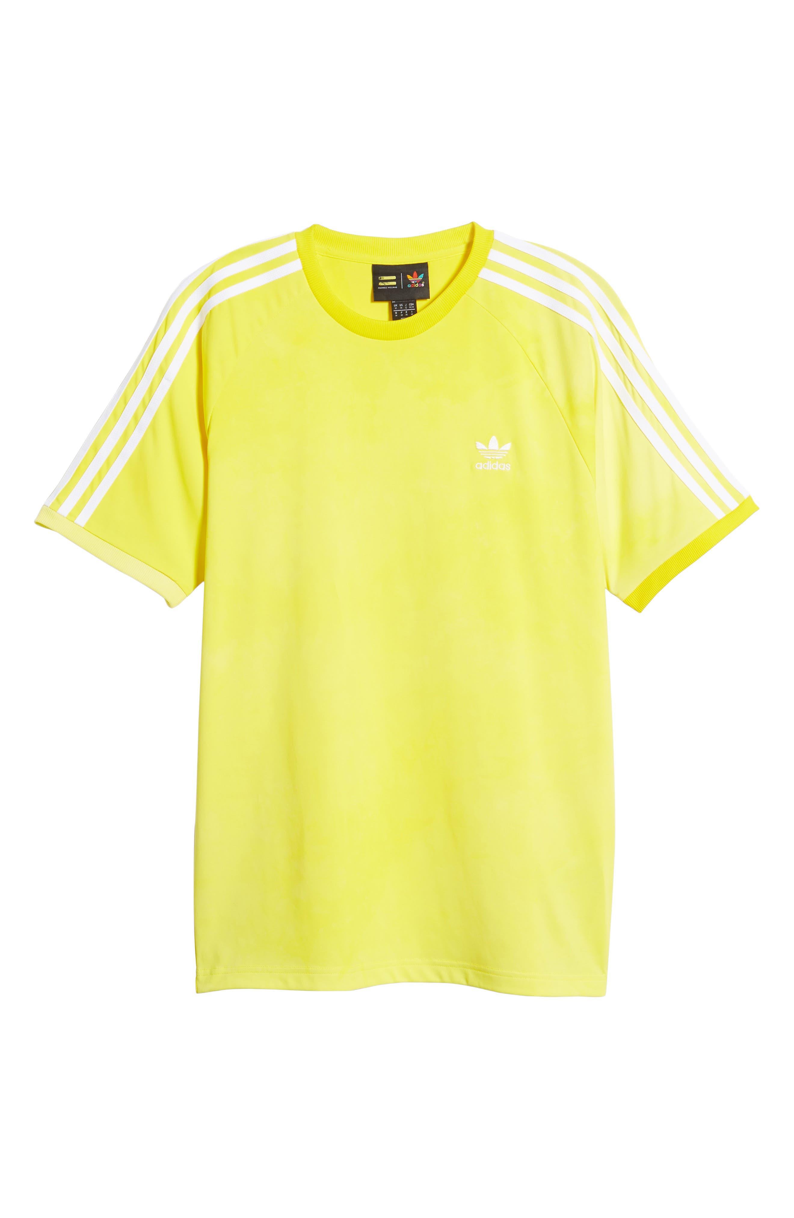 adidas Original Hu Holi T-Shirt,                             Alternate thumbnail 6, color,                             Yellow