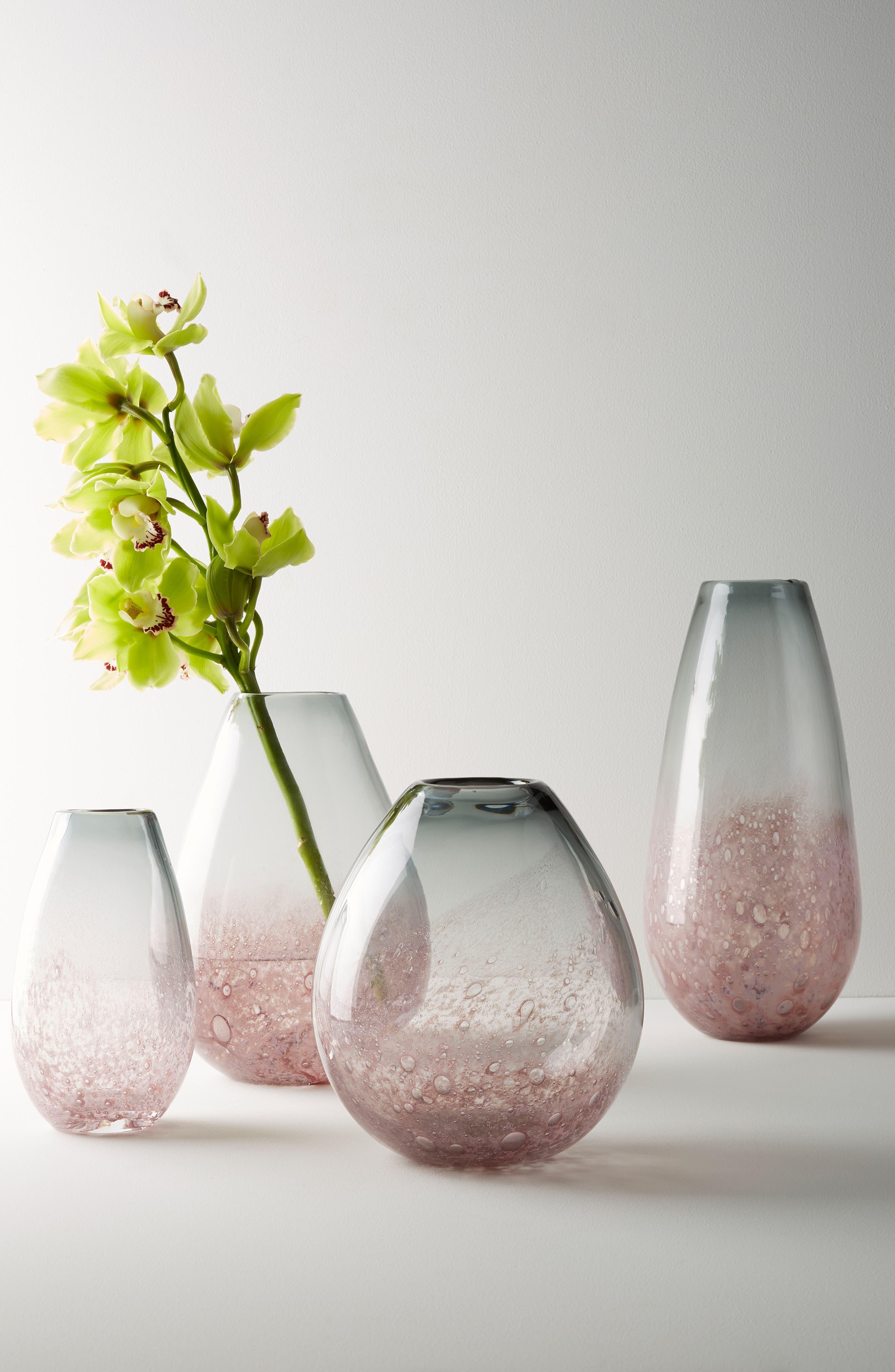 Carmen Vase,                             Alternate thumbnail 2, color,                             Purple - Small