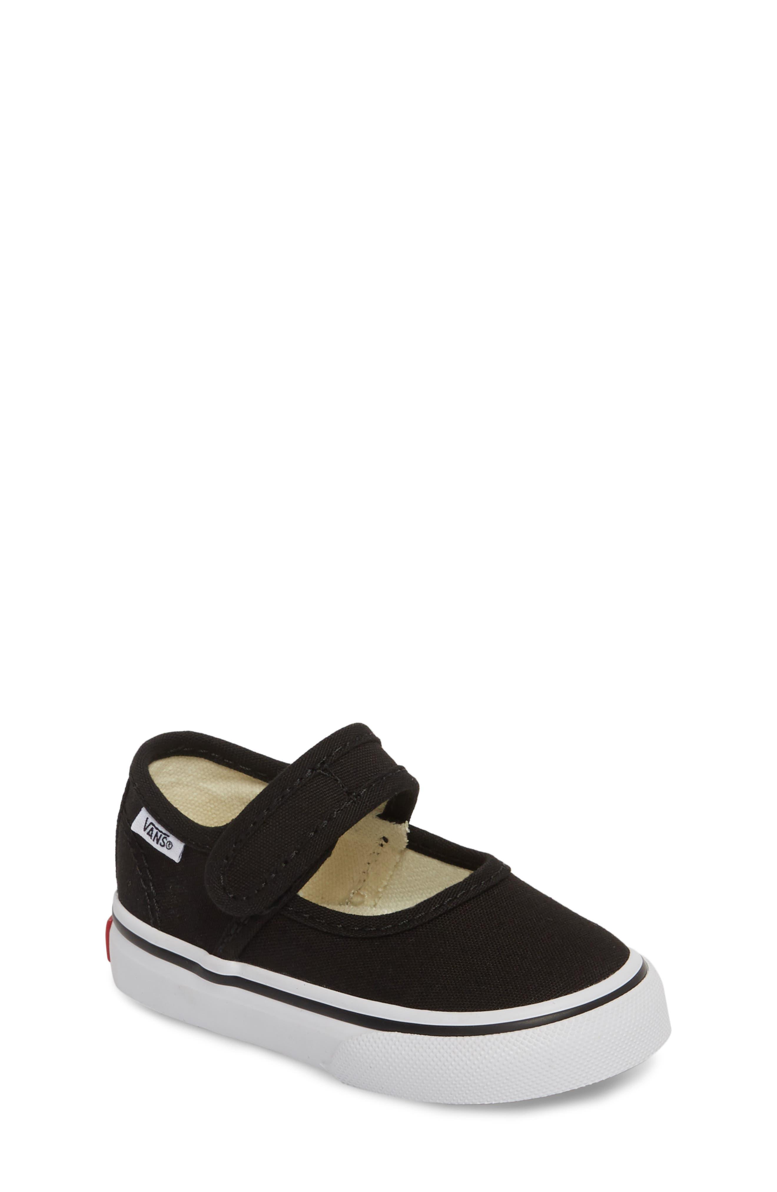 Vans Mary Jane Sneaker (Baby, Walker & Toddler)