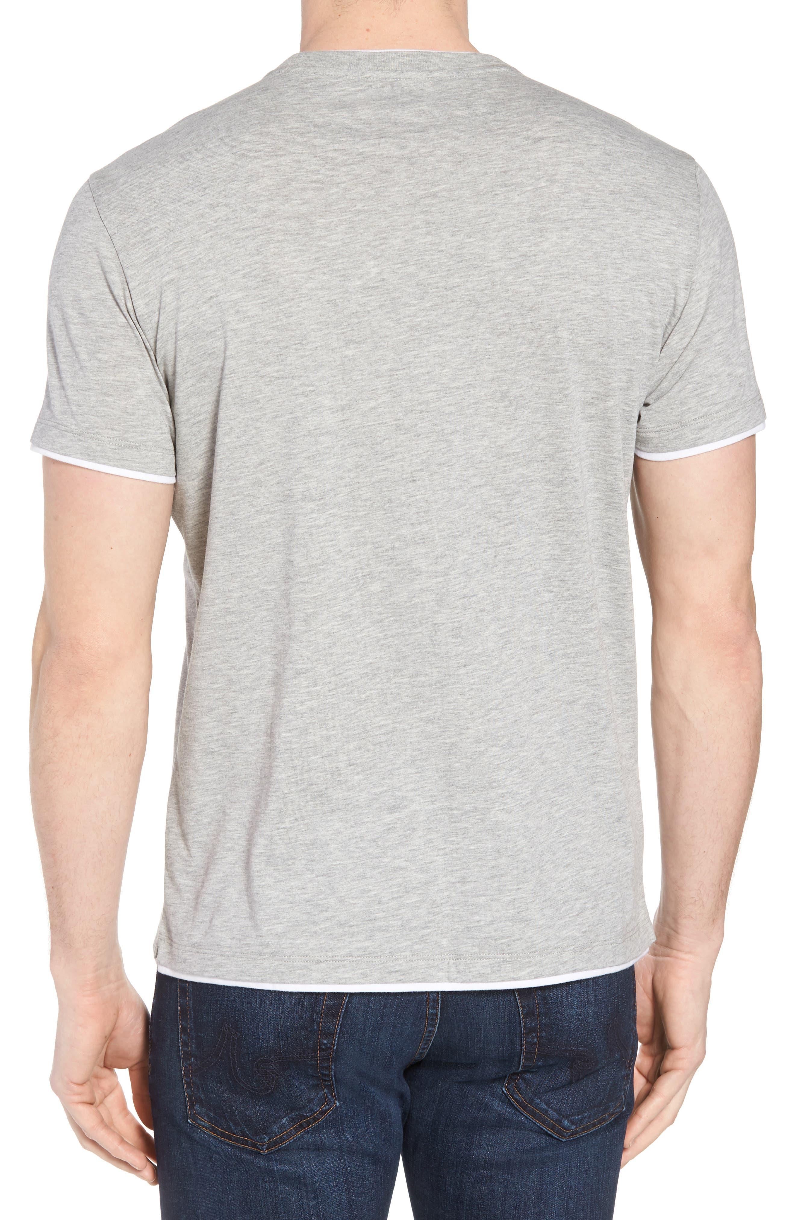 Halifax Crewneck T-Shirt,                             Alternate thumbnail 2, color,                             Light Grey