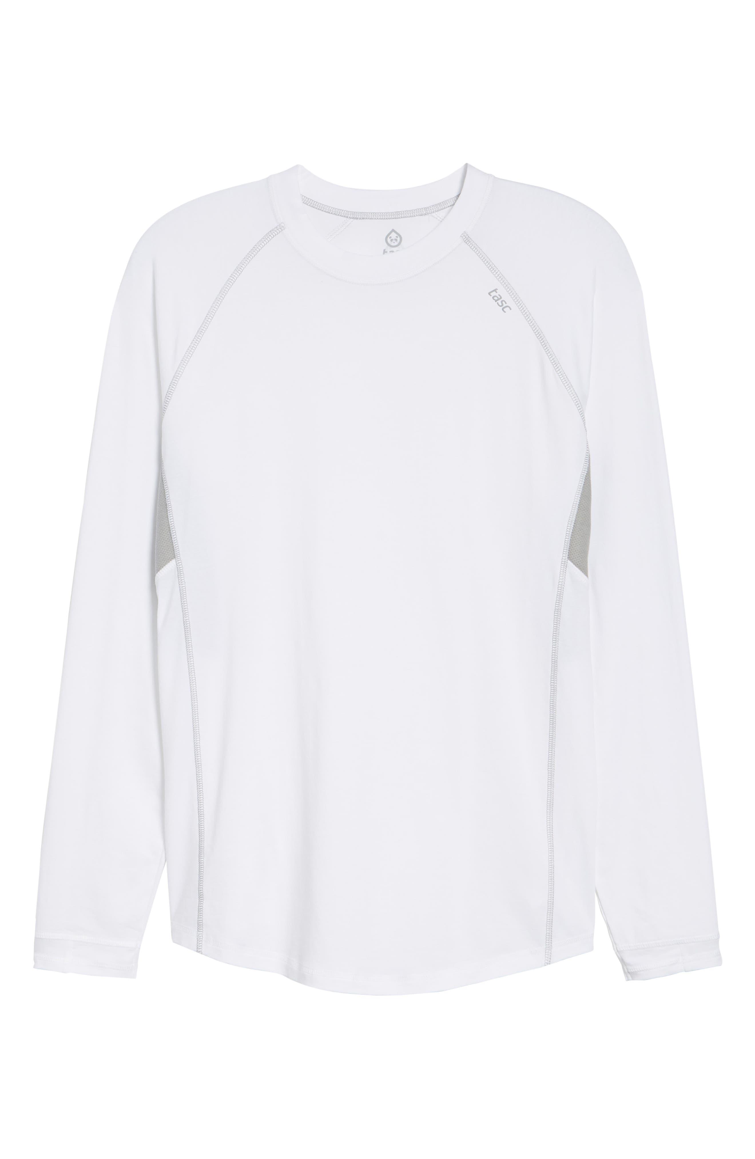 Charge II Long Sleeve T-Shirt,                             Alternate thumbnail 6, color,                             White