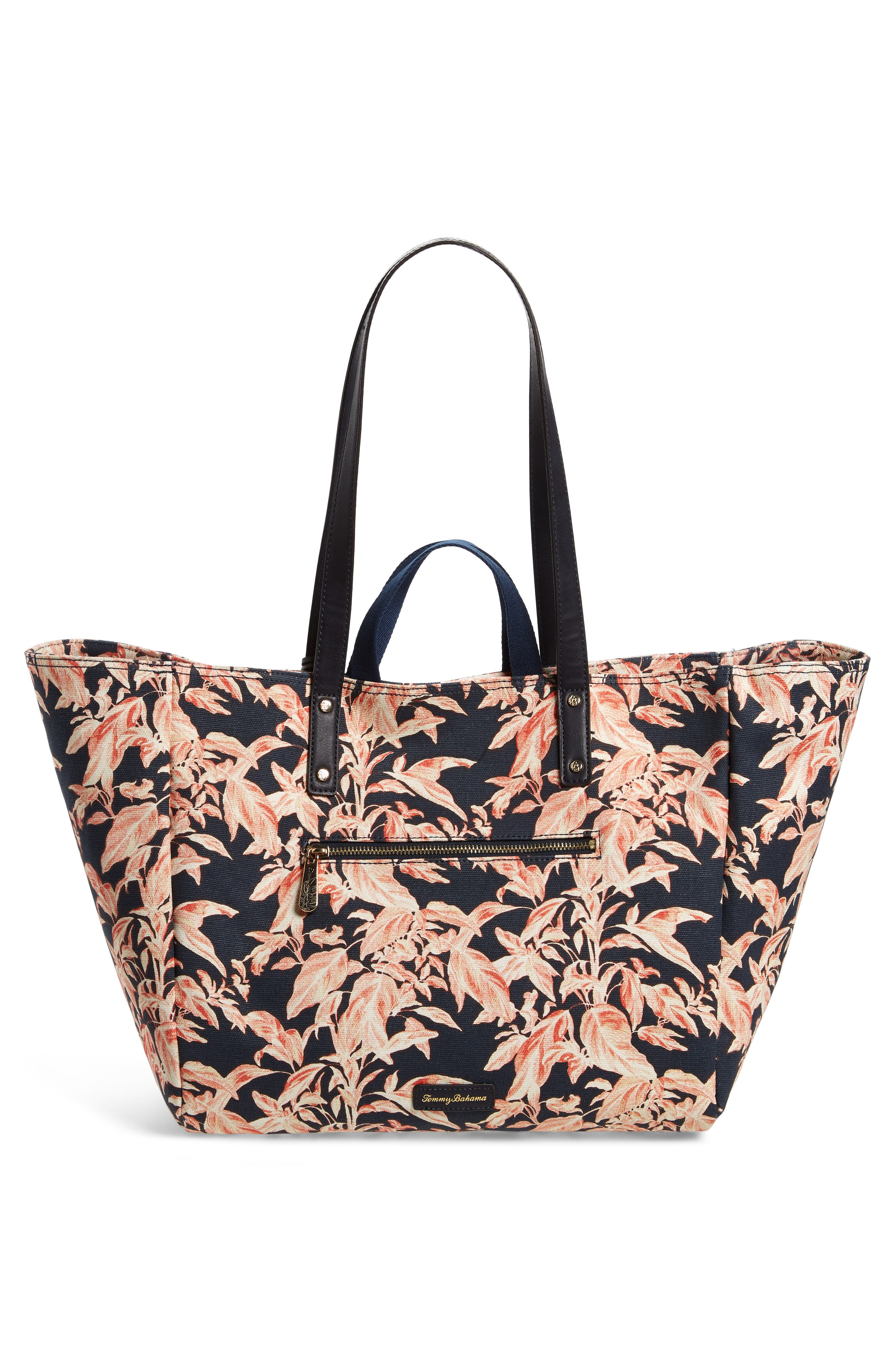 La Plancha Beach Tote,                             Alternate thumbnail 3, color,                             Navy