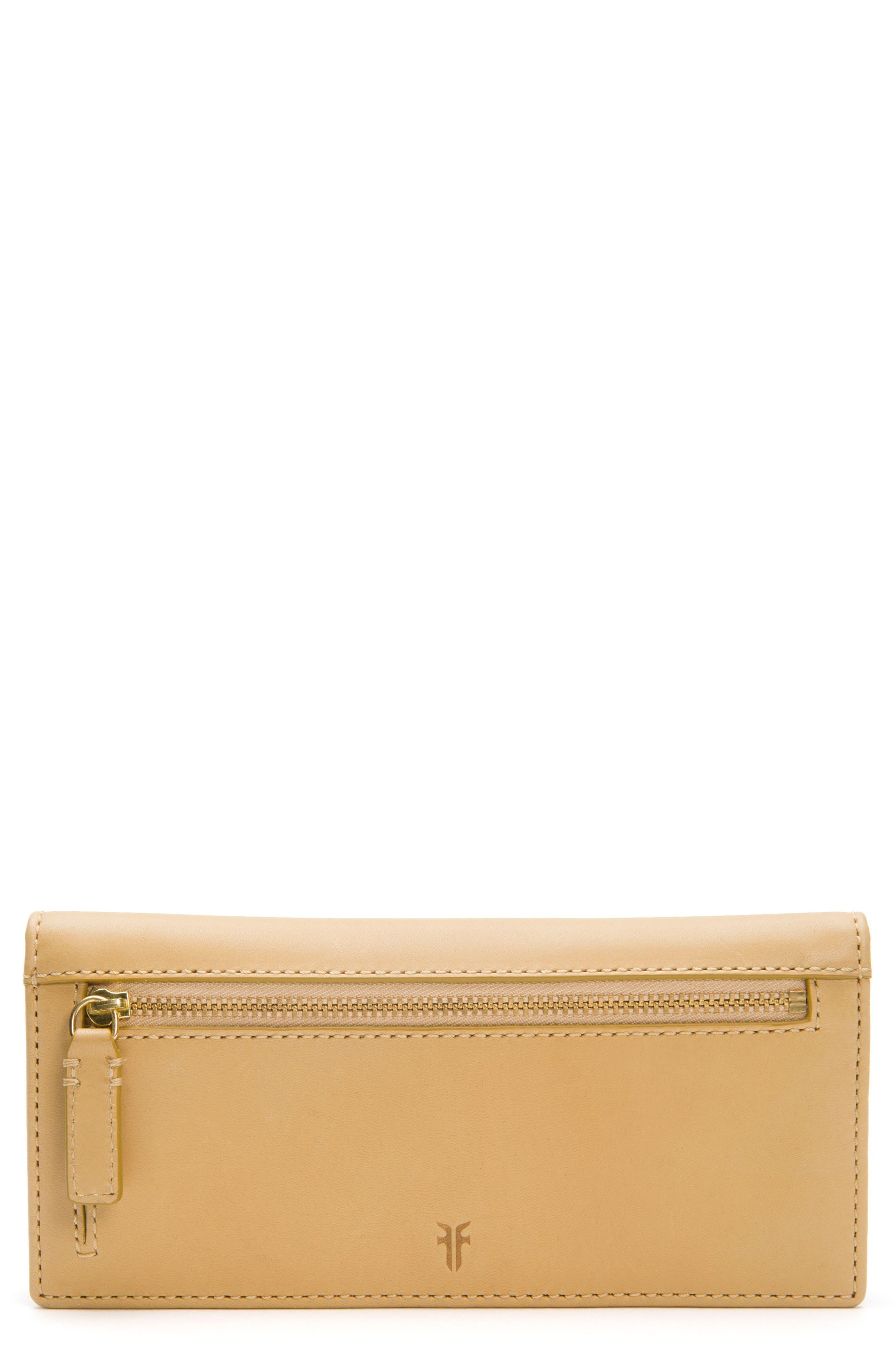Frye Carson Slim Leather Wallet