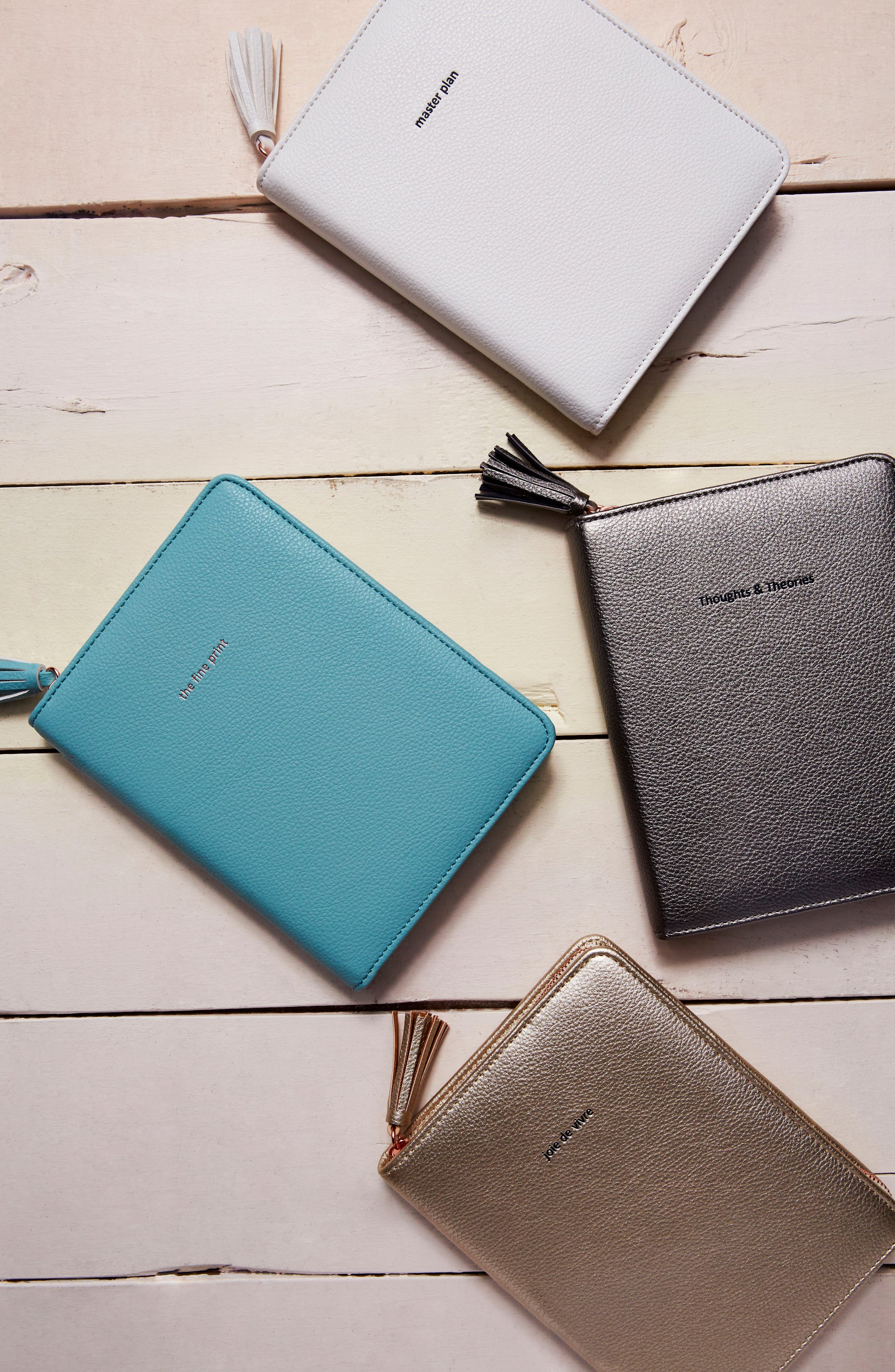 Idiom Leather Journal,                         Main,                         color, Mint