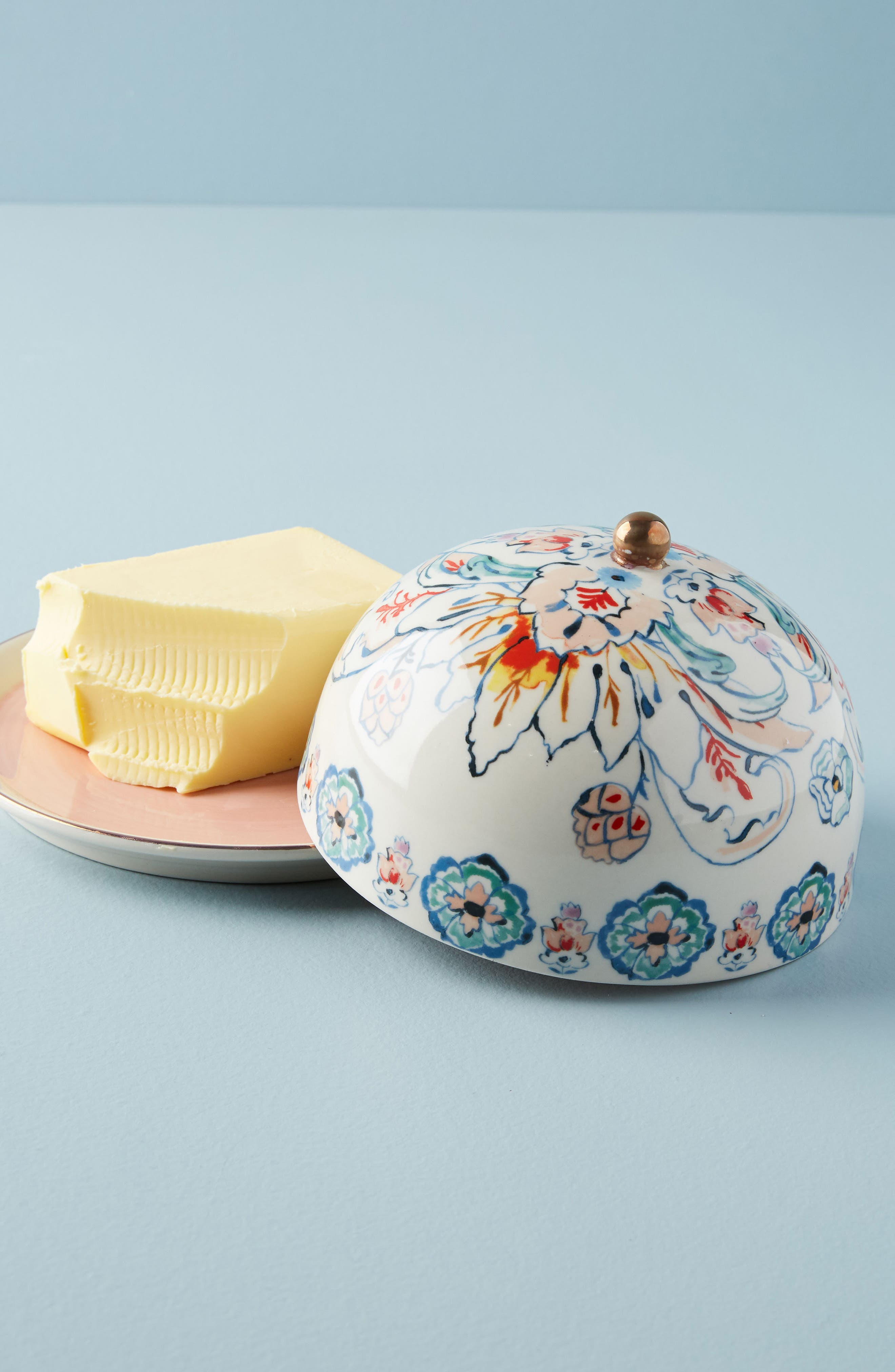 Eres Butter Dish,                             Alternate thumbnail 3, color,