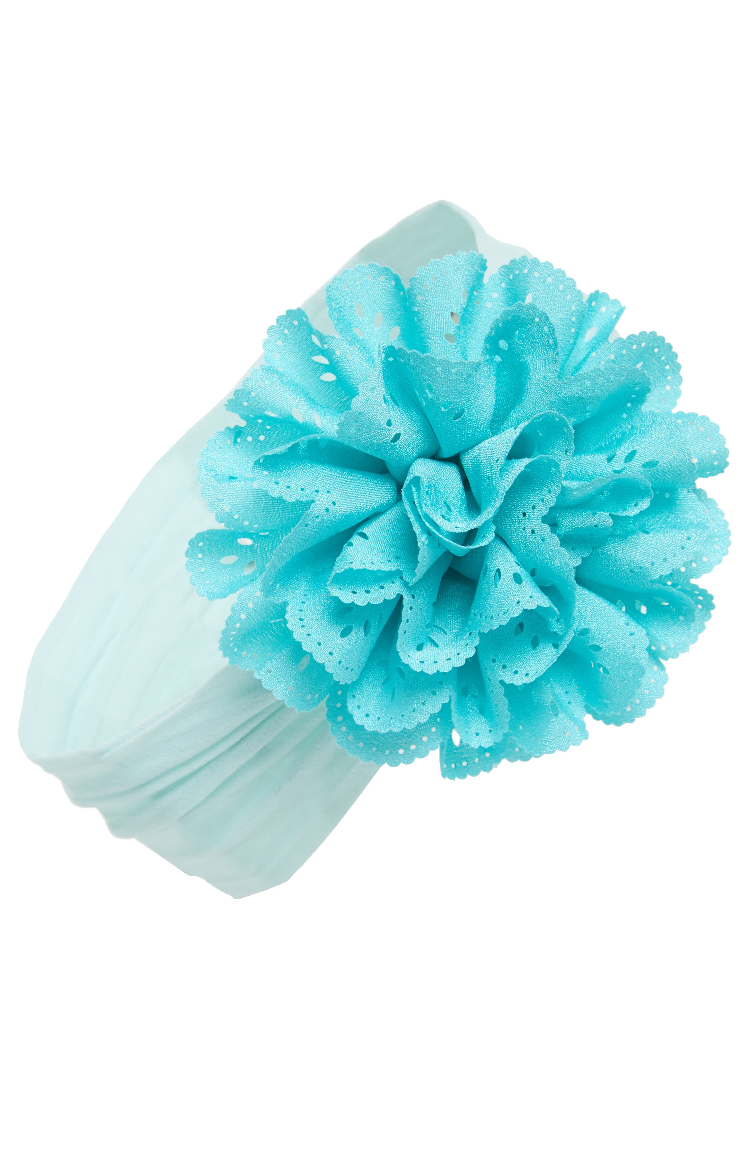 Baby Bling Eyelet Flower Head Wrap