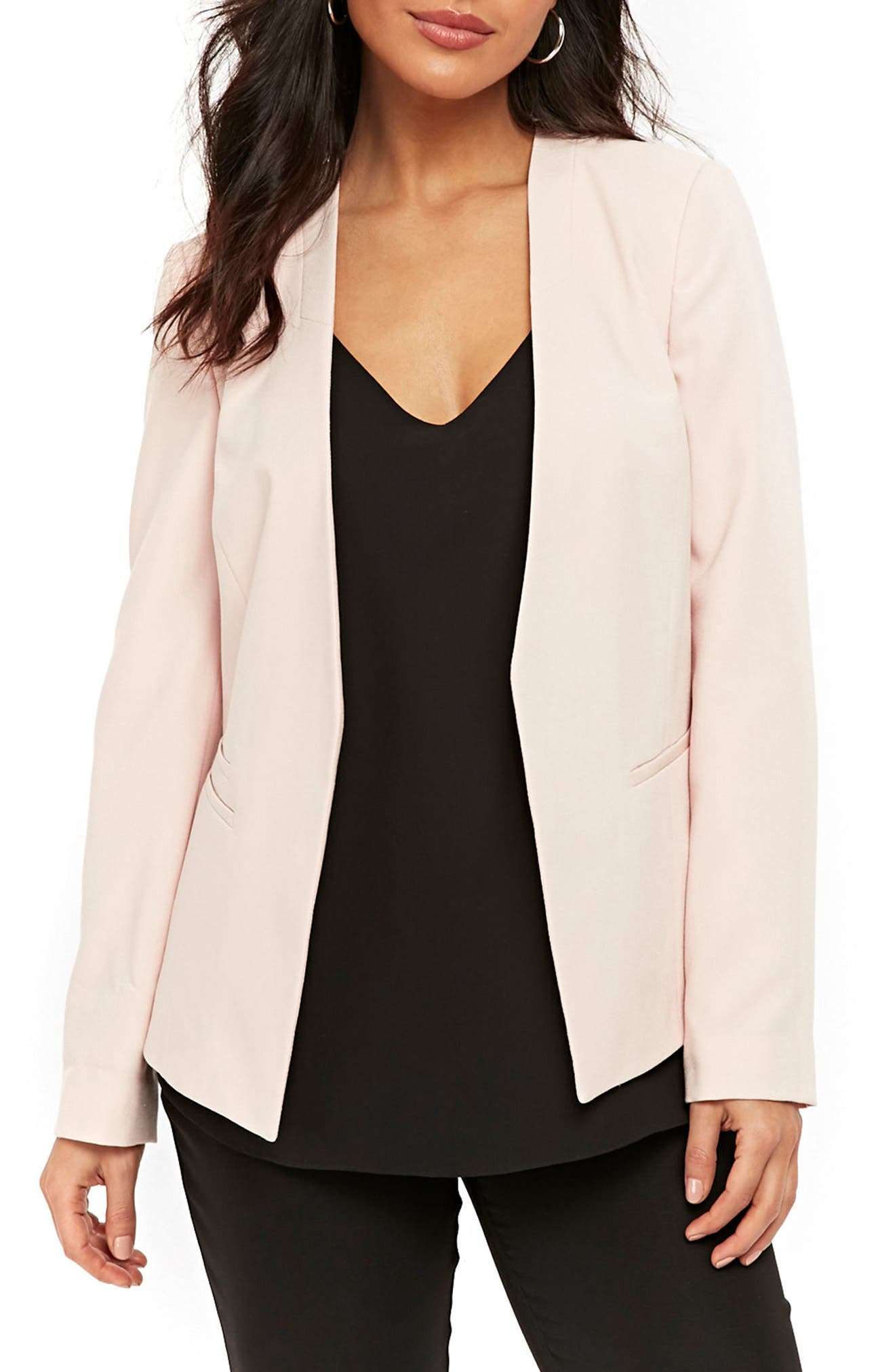 Giglio Edge to Edge Jacket,                             Main thumbnail 1, color,                             Pink