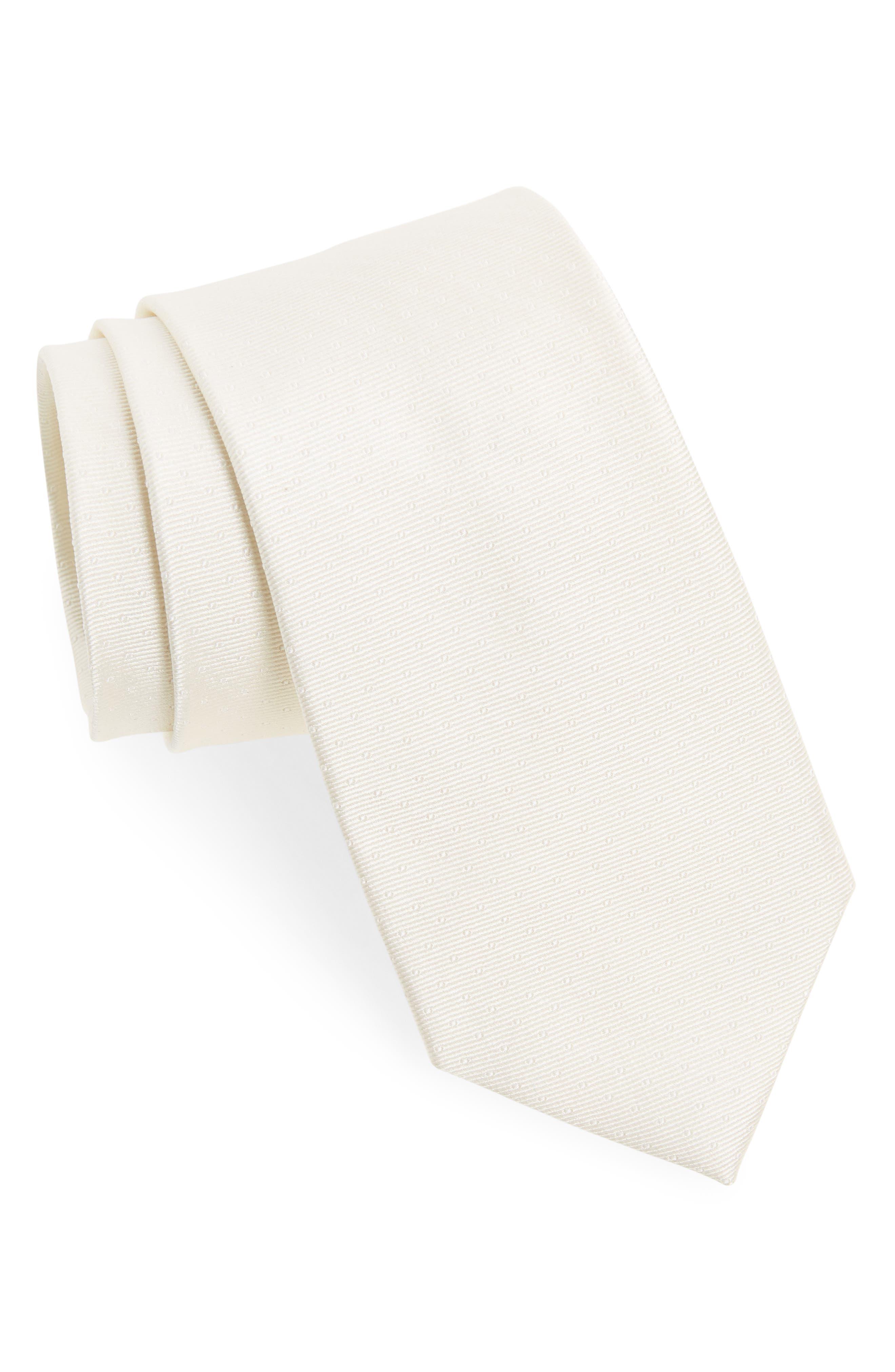 The Tie Bar Mini Dots Silk Tie (X-Long)